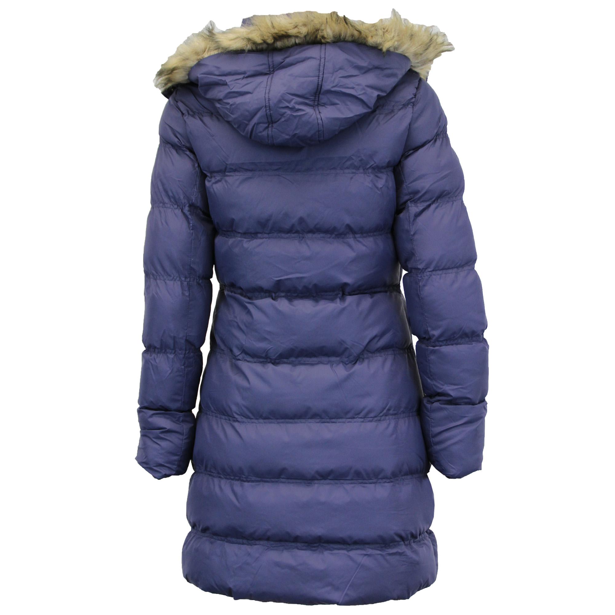 Long padded coats for women