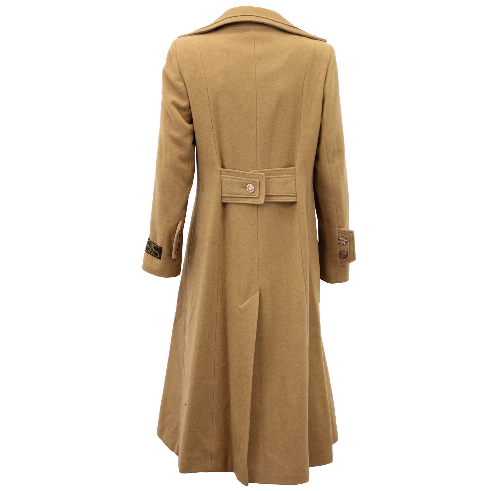 Ladies-Wool-Cashmere-Coat-Women-Jacket-Outerwear-Trench-Overcoat-Winter-Lined thumbnail 23