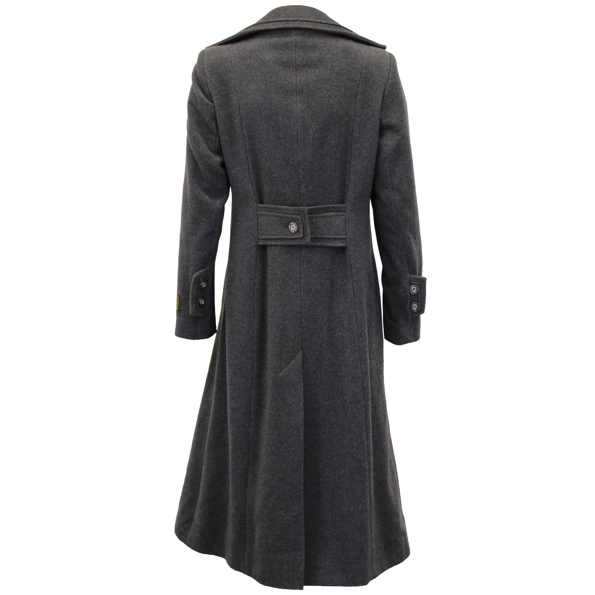 Ladies-Wool-Cashmere-Coat-Women-Jacket-Outerwear-Trench-Overcoat-Winter-Lined thumbnail 40