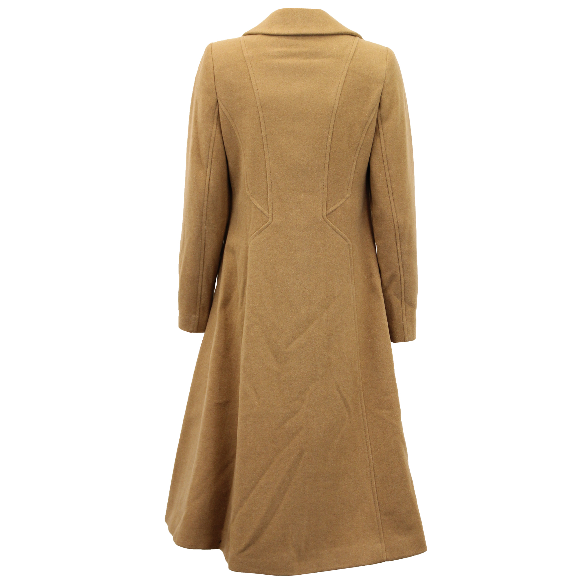 Ladies-Wool-Cashmere-Coat-Women-Jacket-Outerwear-Trench-Overcoat-Winter-Lined thumbnail 31