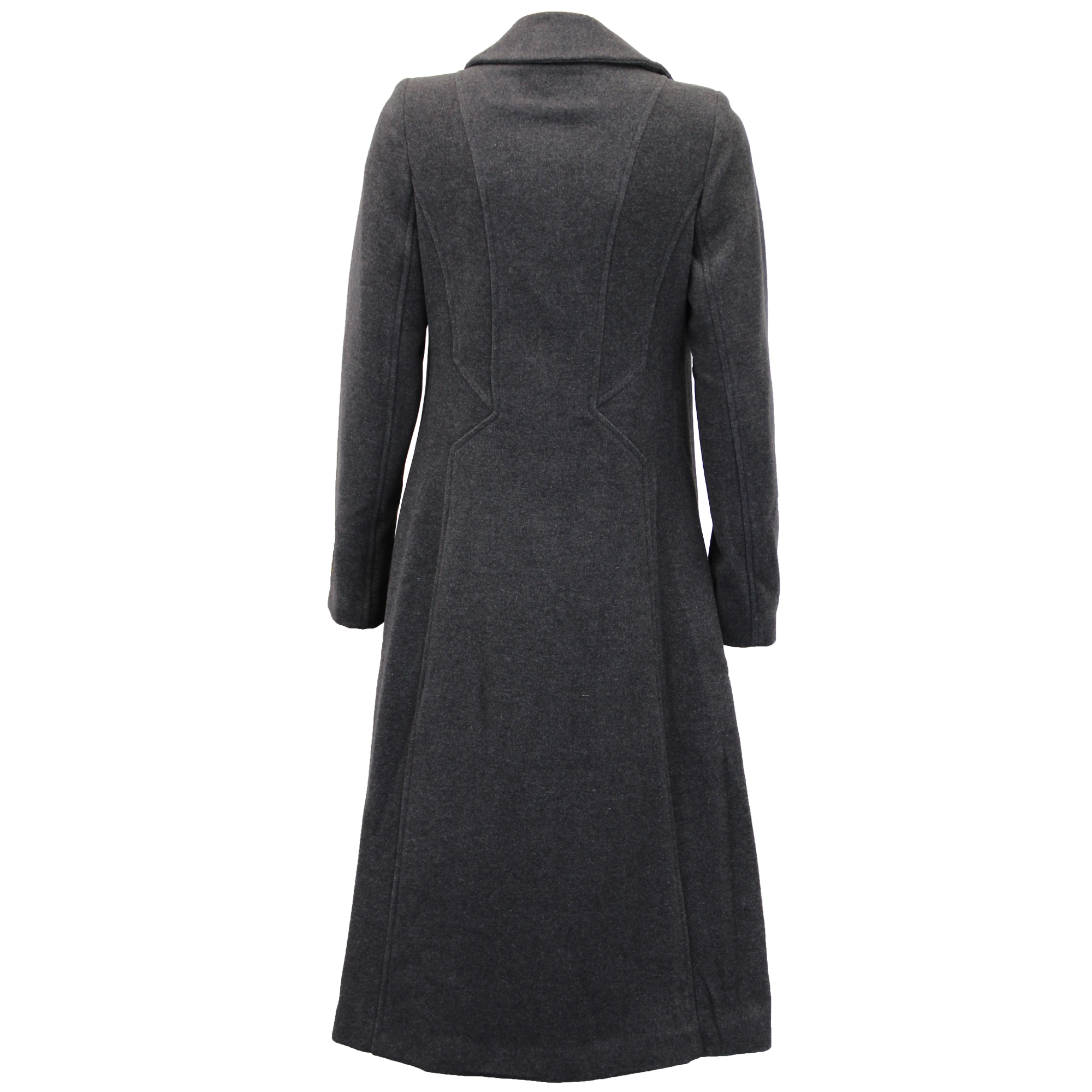 Ladies-Wool-Cashmere-Coat-Women-Jacket-Outerwear-Trench-Overcoat-Winter-Lined thumbnail 43