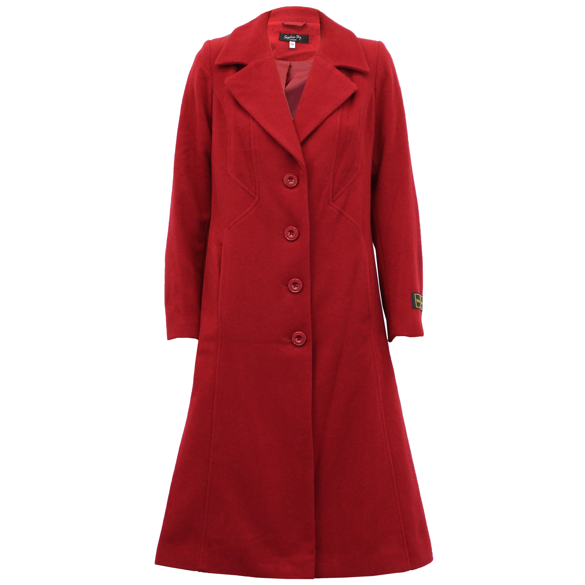 Ladies Wool Cashmere Coat Women Jacket Outerwear Trench ...
