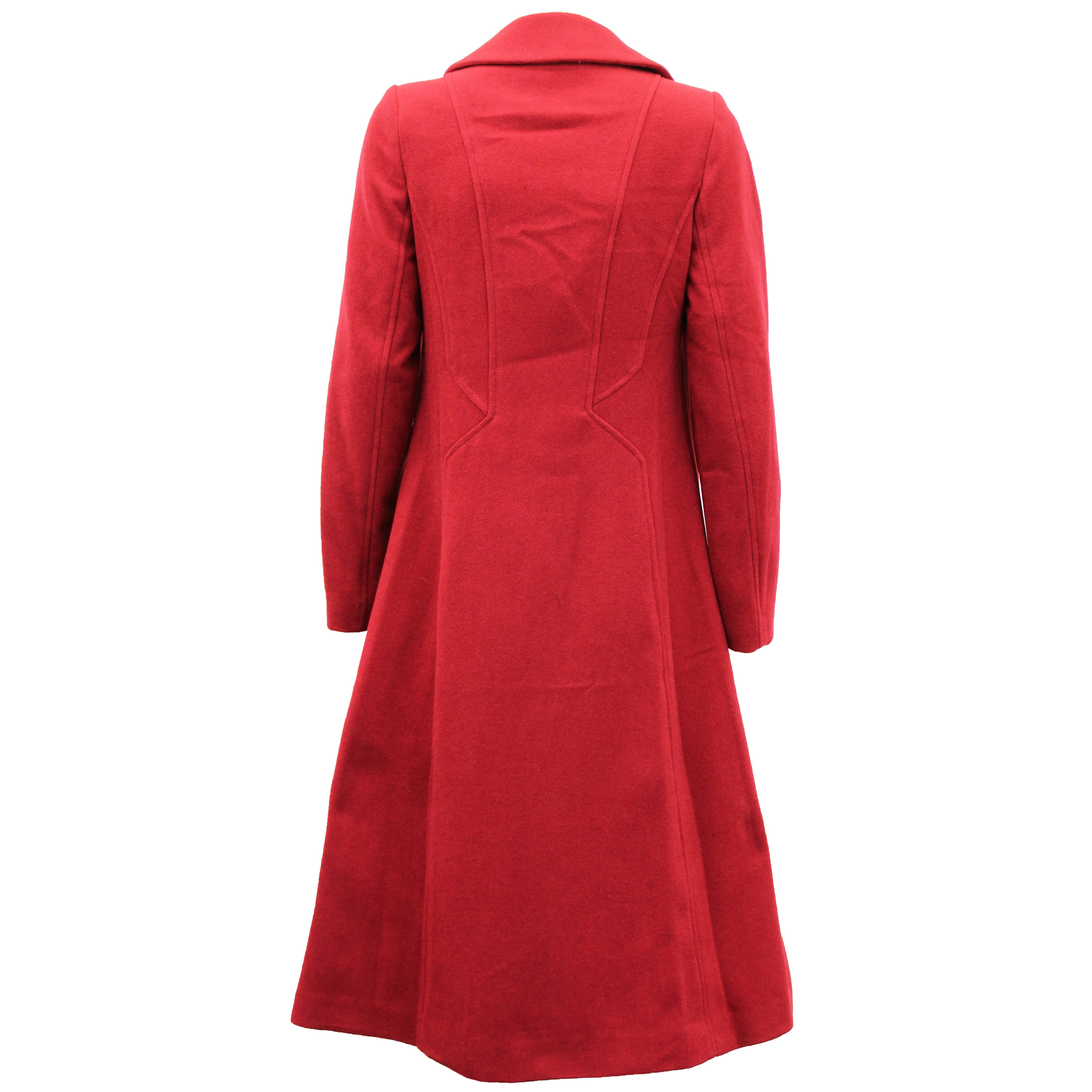 Ladies-Wool-Cashmere-Coat-Women-Jacket-Outerwear-Trench-Overcoat-Winter-Lined thumbnail 54