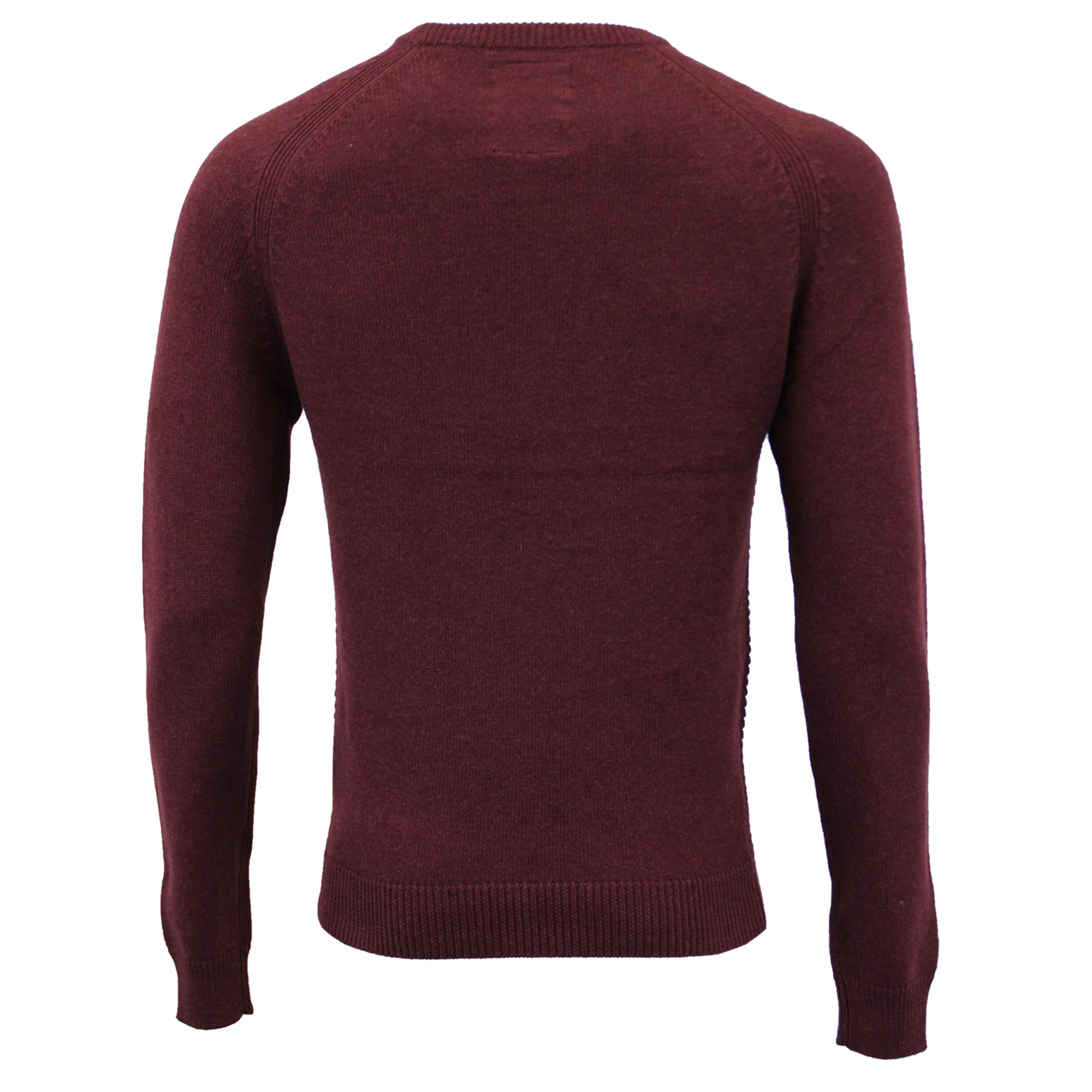 Mens-Jumper-Threadbare-Knitted-Cotton-Sweater-Half-Zip-Pullover-Top-Winter-New thumbnail 11