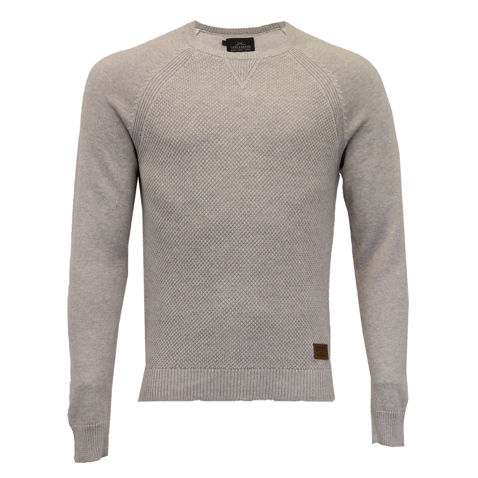 Mens-Jumper-Threadbare-Knitted-Cotton-Sweater-Half-Zip-Pullover-Top-Winter-New thumbnail 18