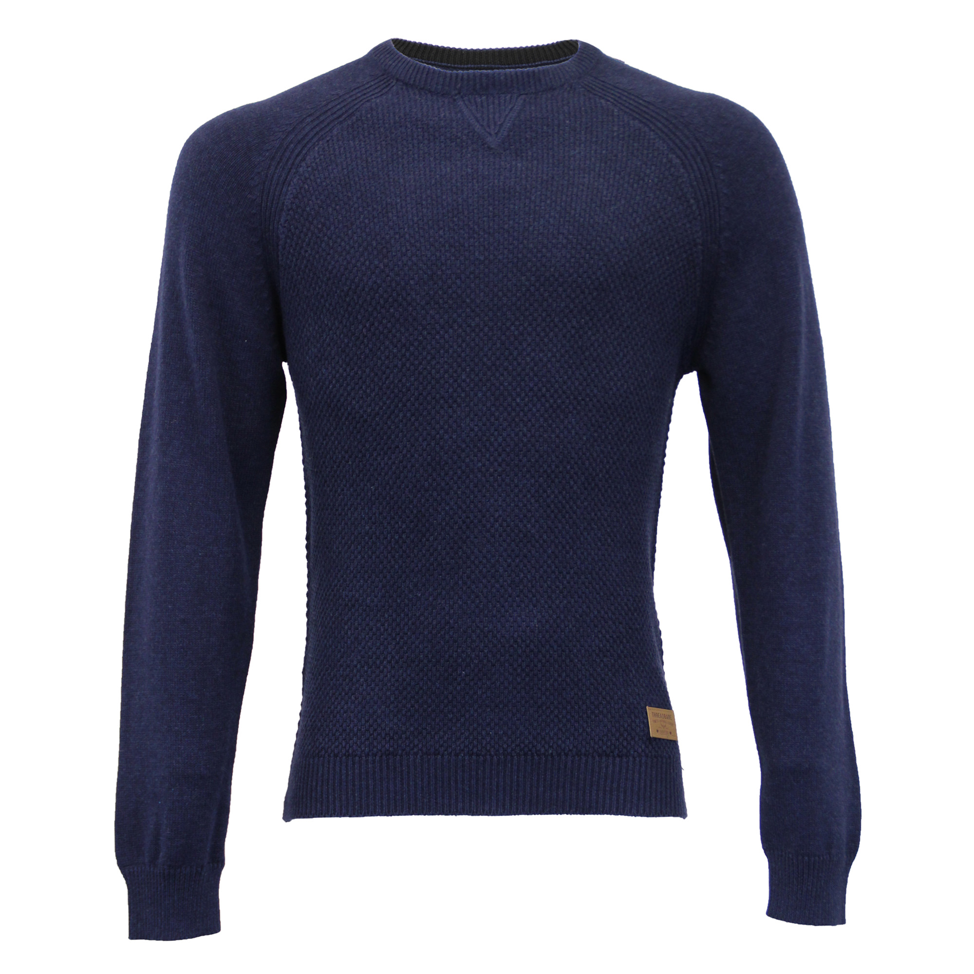 Mens-Jumper-Threadbare-Knitted-Cotton-Sweater-Half-Zip-Pullover-Top-Winter-New thumbnail 21