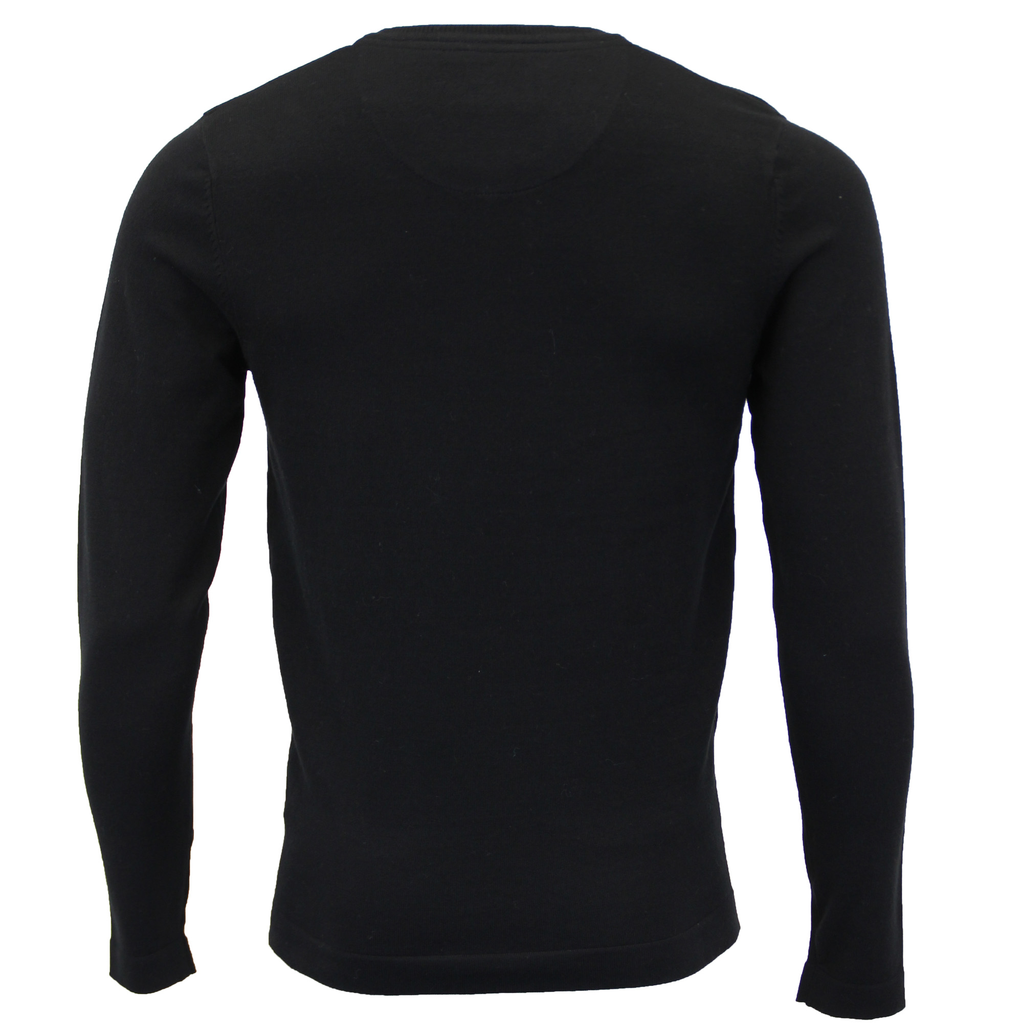 Mens-Jumper-Threadbare-Knitted-Cotton-Sweater-Half-Zip-Pullover-Top-Winter-New thumbnail 6