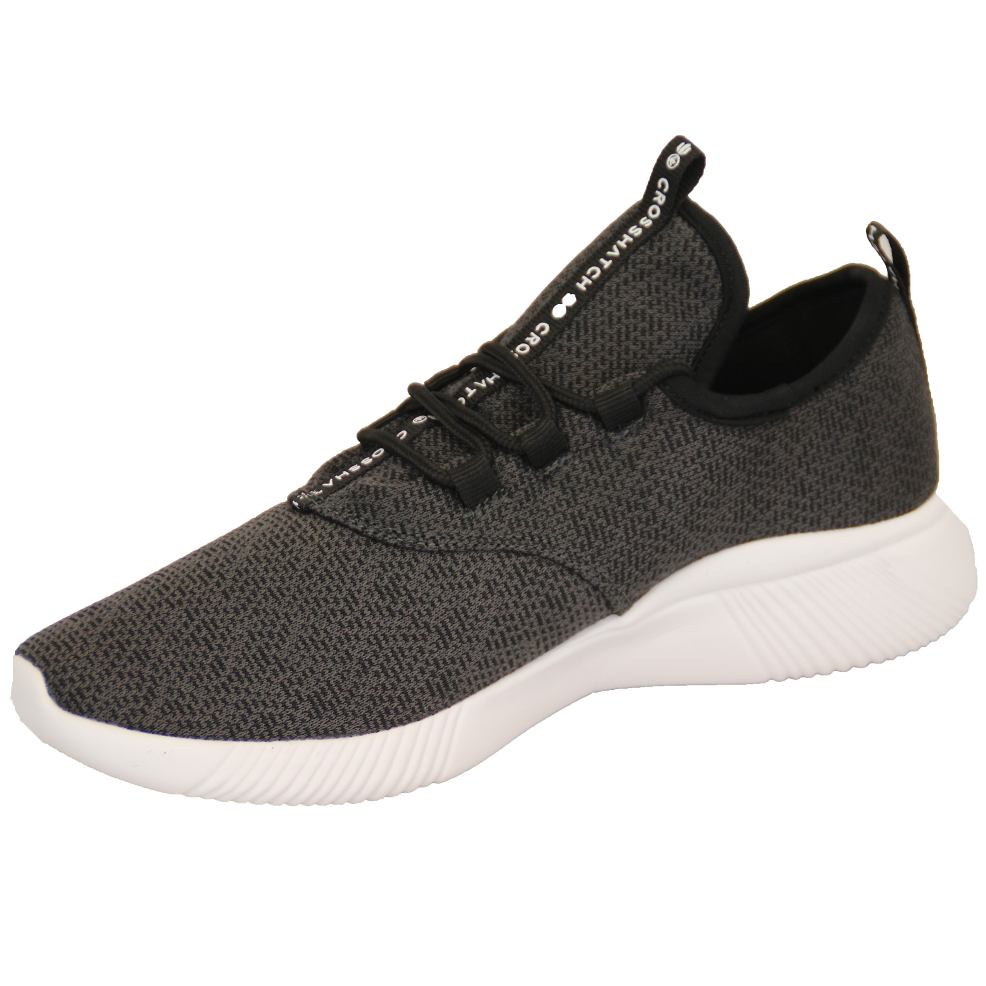 Mens-Trainers-Crosshatch-Running-Speed-Lace-Up-Knit-Mesh-Sports-Gym-Shoes-Casual thumbnail 3