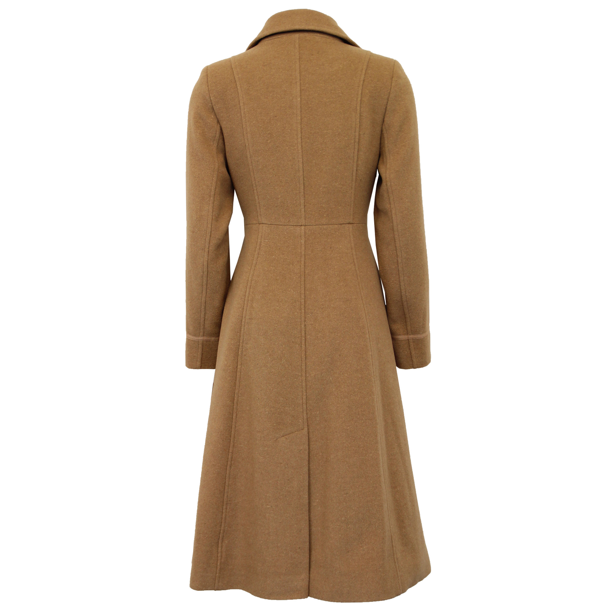 thumbnail 3 - Ladies-Wool-Cashmere-Coat-Womens-Jacket-Outerwear-Trench-Overcoat-Winter-Warm