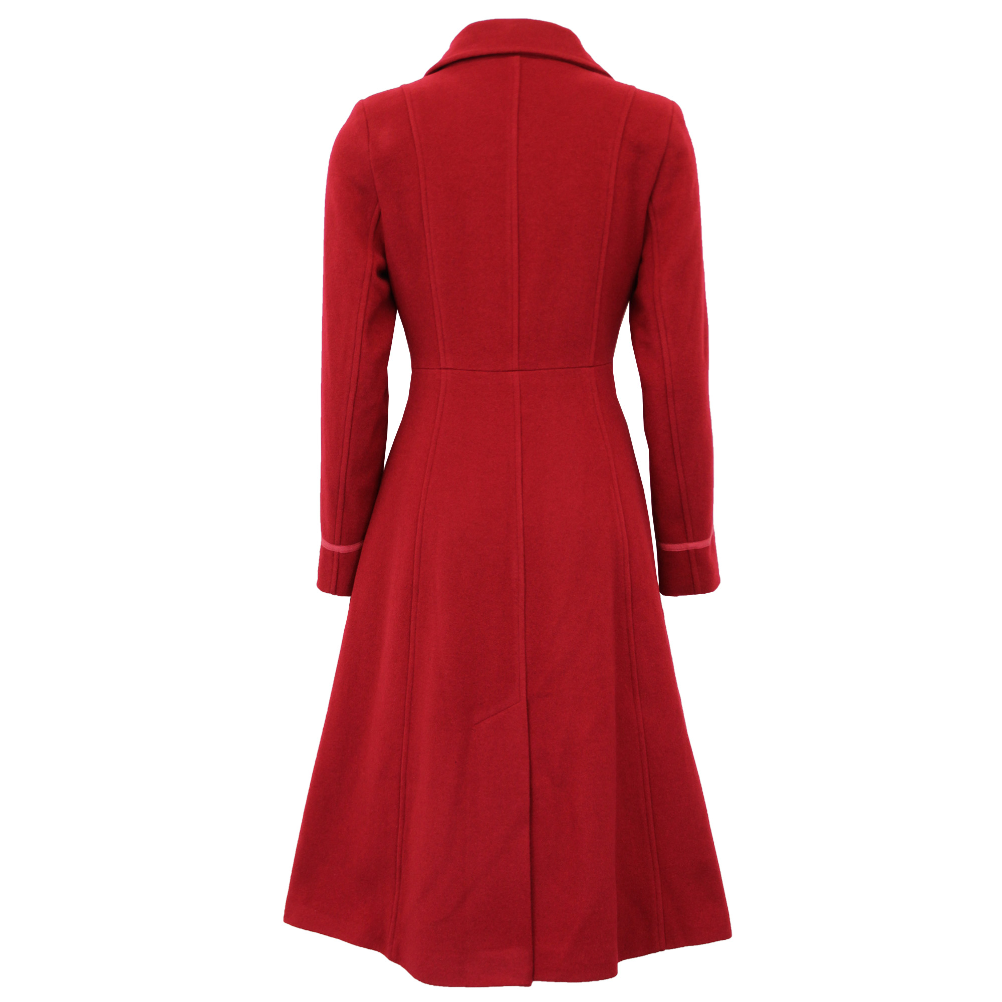 thumbnail 9 - Ladies-Wool-Cashmere-Coat-Womens-Jacket-Outerwear-Trench-Overcoat-Winter-Warm