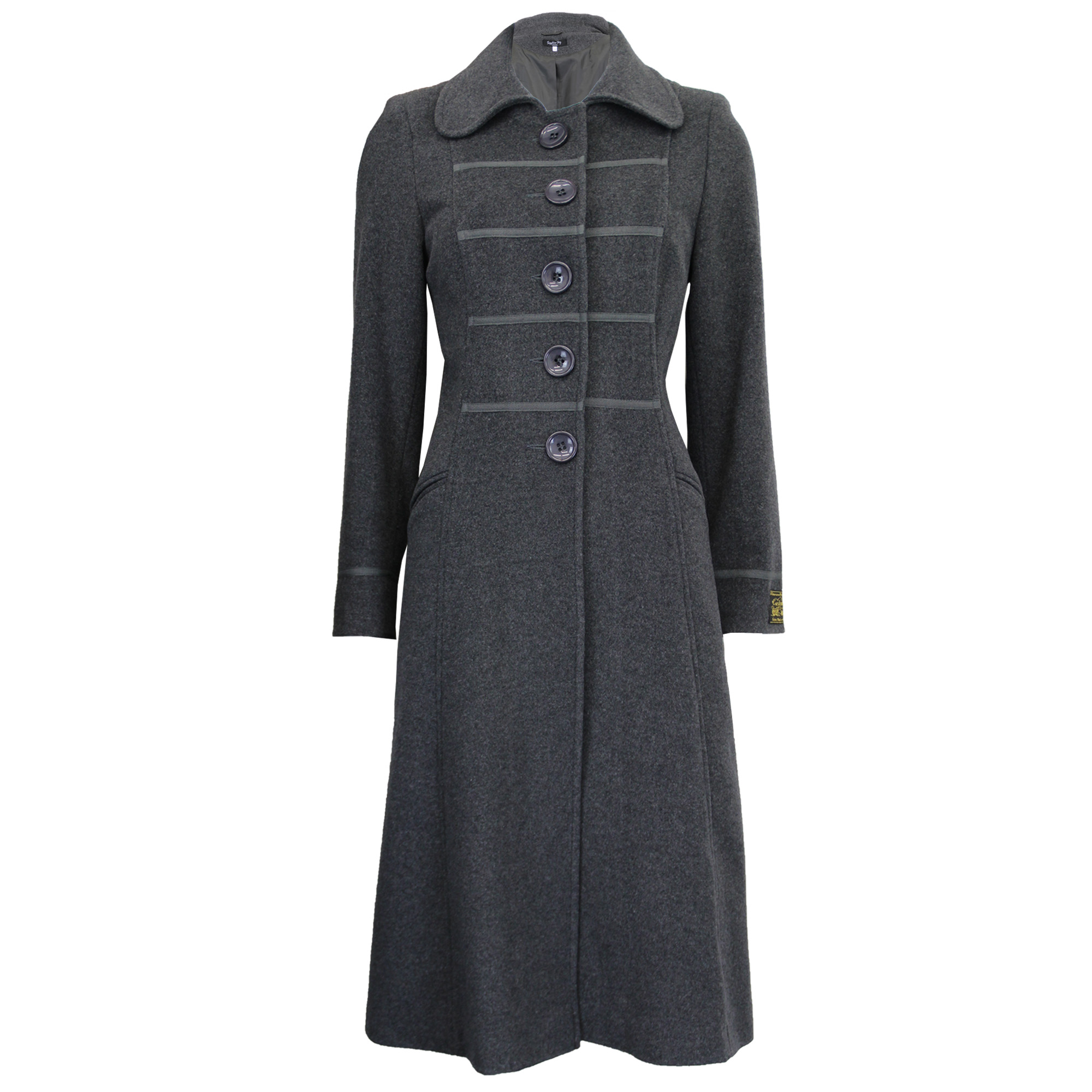 thumbnail 5 - Ladies-Wool-Cashmere-Coat-Womens-Jacket-Outerwear-Trench-Overcoat-Winter-Warm