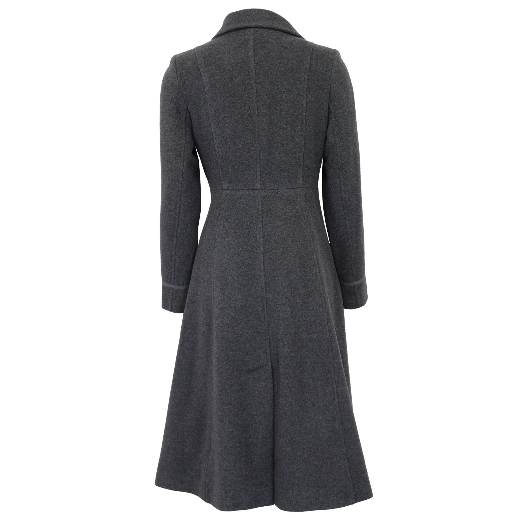 thumbnail 6 - Ladies-Wool-Cashmere-Coat-Womens-Jacket-Outerwear-Trench-Overcoat-Winter-Warm