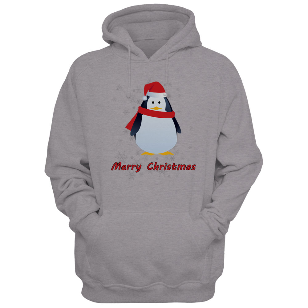 Mens-Christmas-Sweatshirt-Xmas-Hoodie-Top-Penguin-Gingerbread-Darth-Vader-Print thumbnail 8
