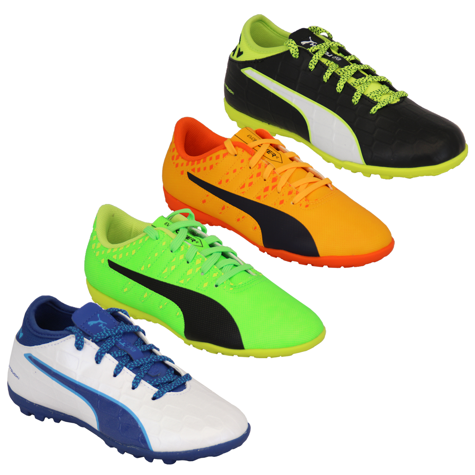 1130a24d999 Boys Football Trainers PUMA Kids Astro Turf Evo Touch Power Boots ...