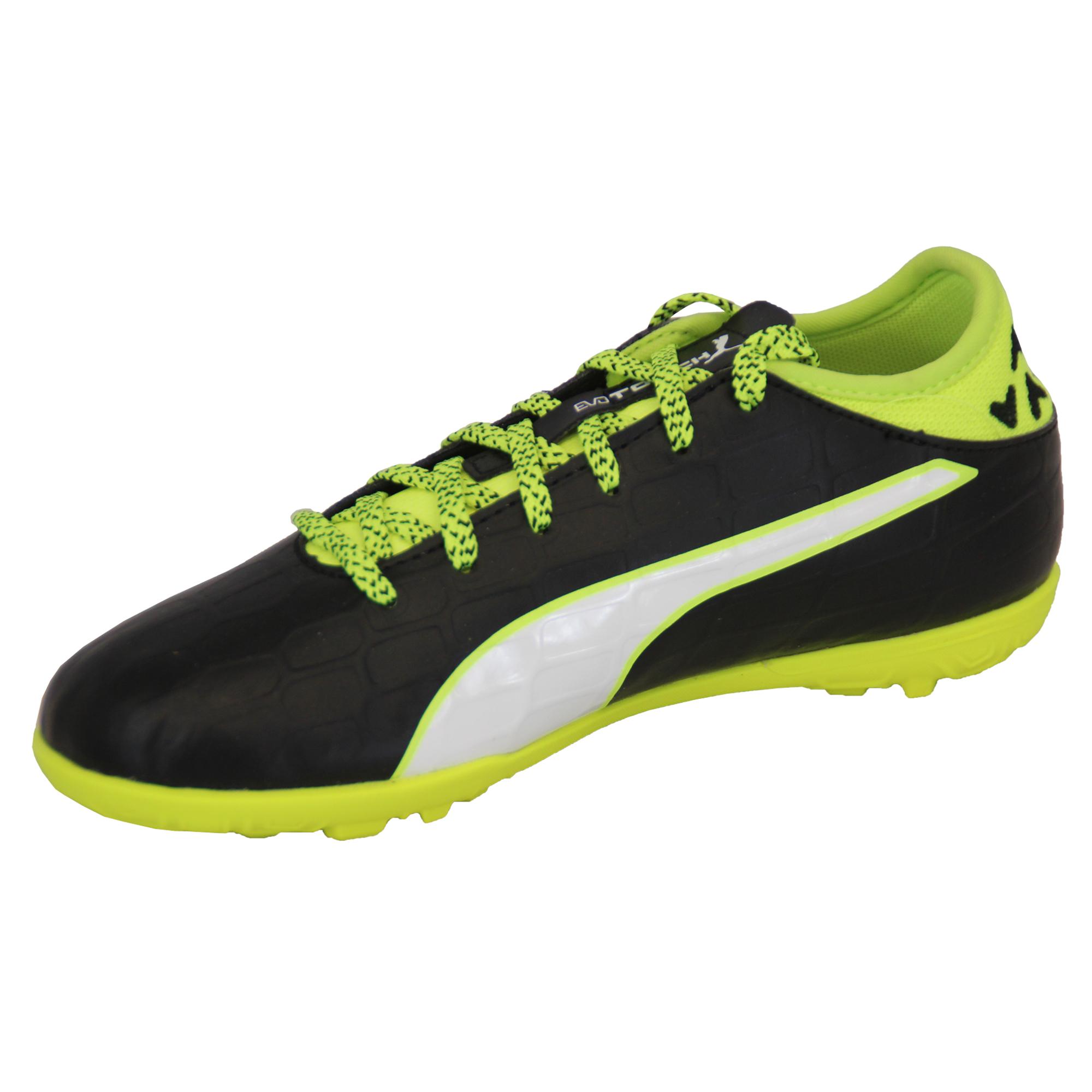 Ragazzi-Calcio-Scarpe-da-ginnastica-Puma-Bambini-Astro-Turf-Evo-Touch-Power-Stivali-Scarpe-Sportive miniatura 3