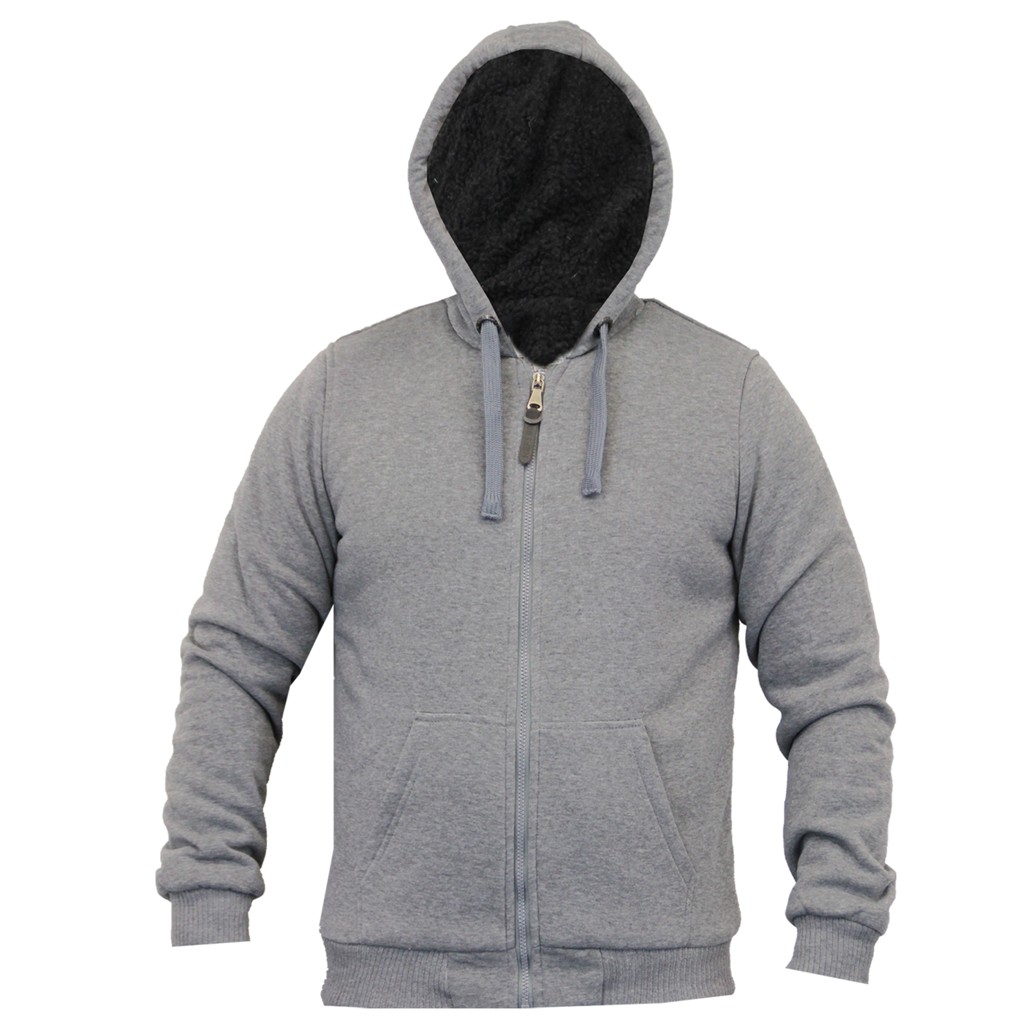 Mens Jacket Brave Soul Sweat Coat Hoodie Top Sherpa Fleece Zip Casual Winter New Ebay