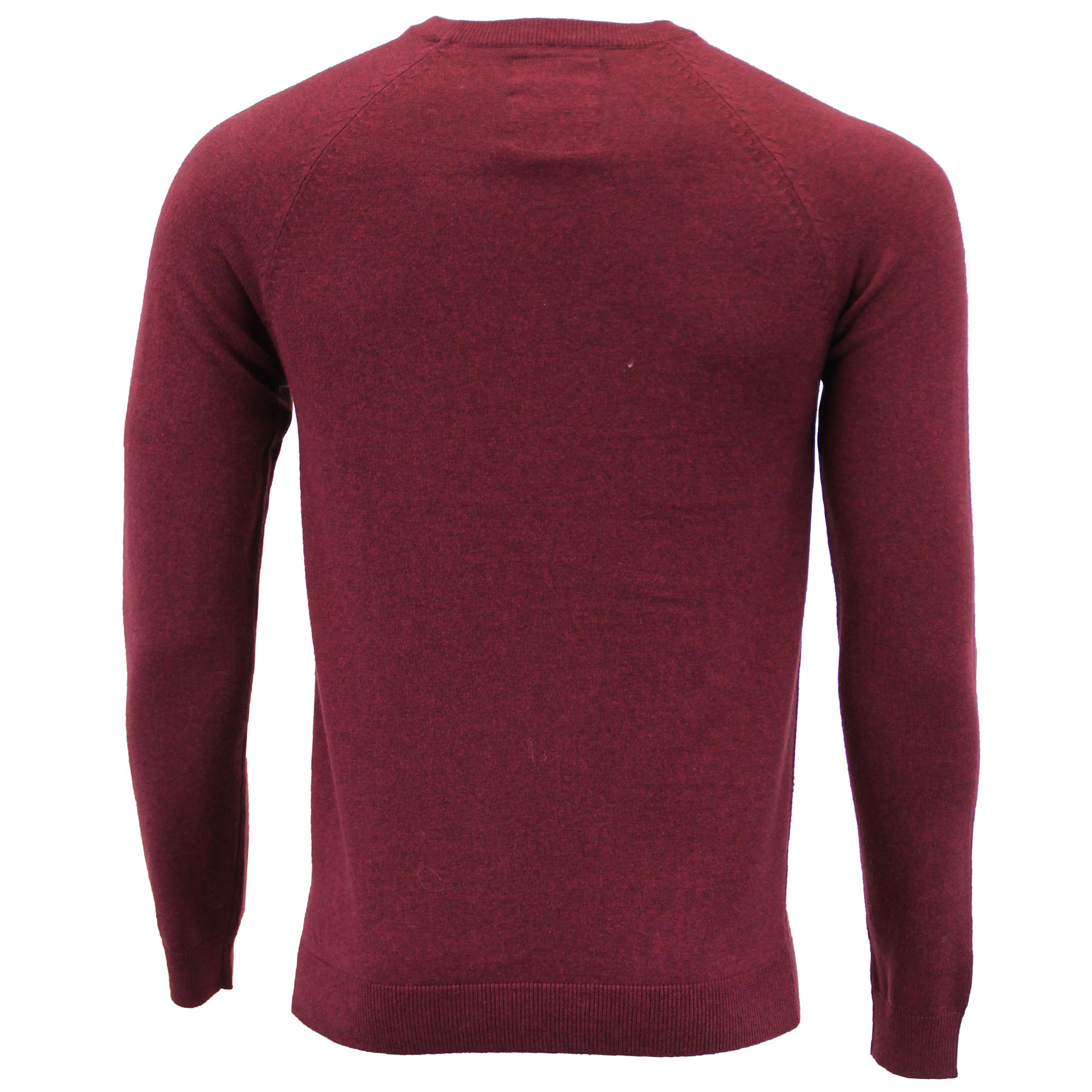 Mens-Jumper-Threadbare-Knitted-Sweater-Pullover-Top-Crew-Neck-Casual-Winter-New thumbnail 3