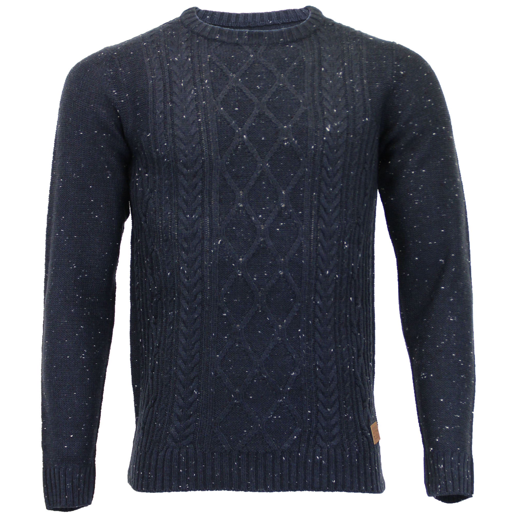 Mens-Wool-Mix-Jumper-Threadbare-Knitted-Sweater-Pullover-Top-Chunky-Zip-Winter thumbnail 29
