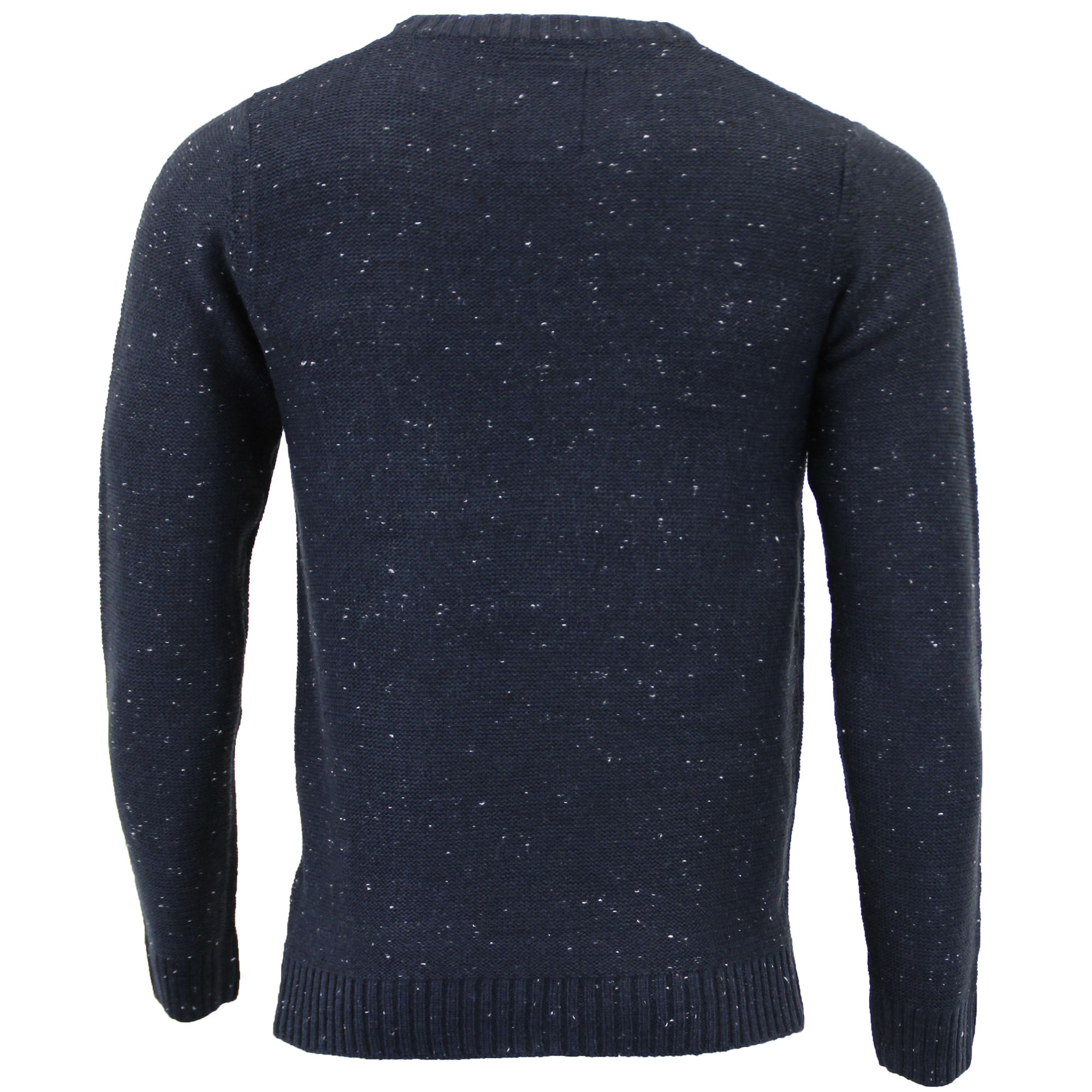 Mens-Wool-Mix-Jumper-Threadbare-Knitted-Sweater-Pullover-Top-Chunky-Zip-Winter thumbnail 30