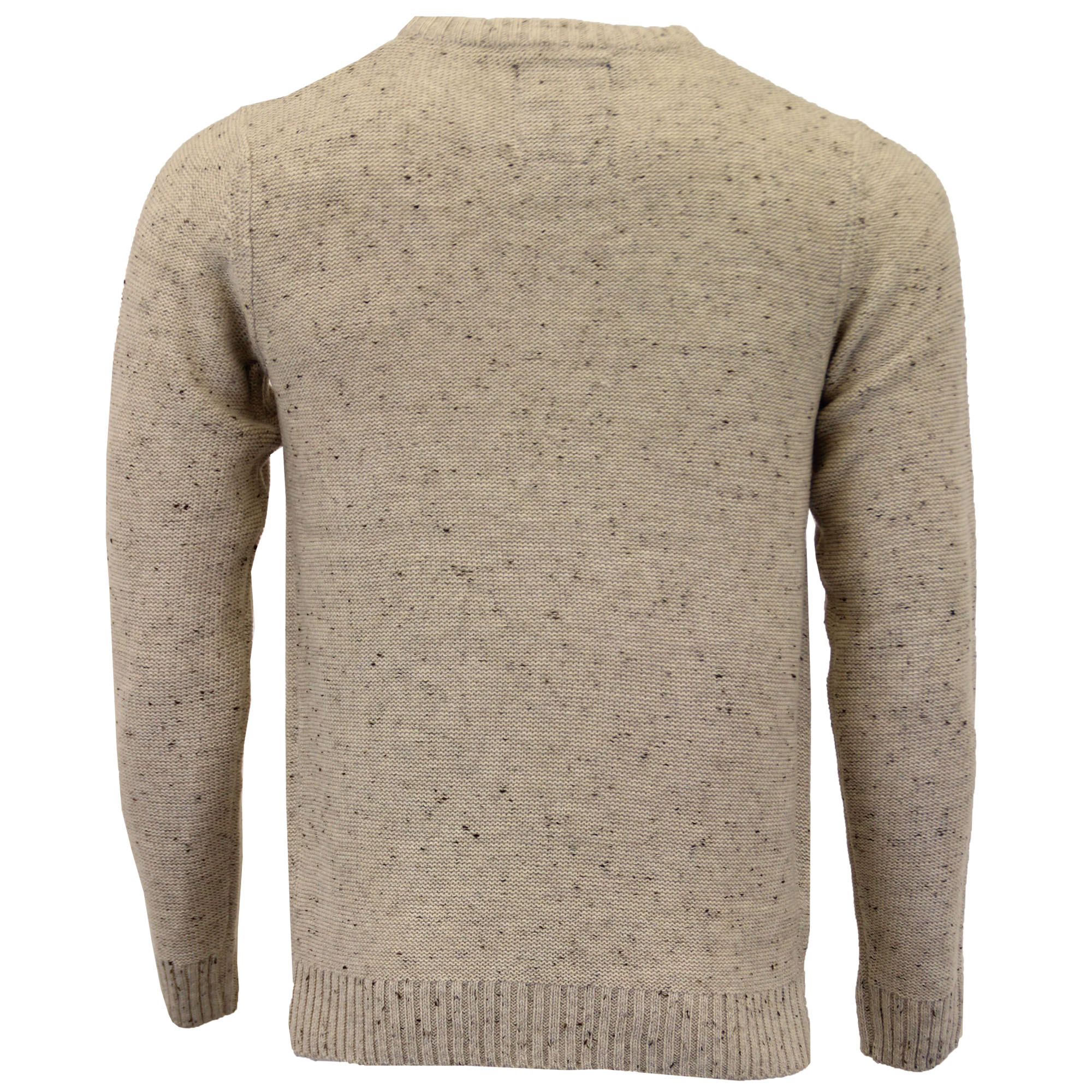 Mens-Wool-Mix-Jumper-Threadbare-Knitted-Sweater-Pullover-Top-Chunky-Zip-Winter thumbnail 38