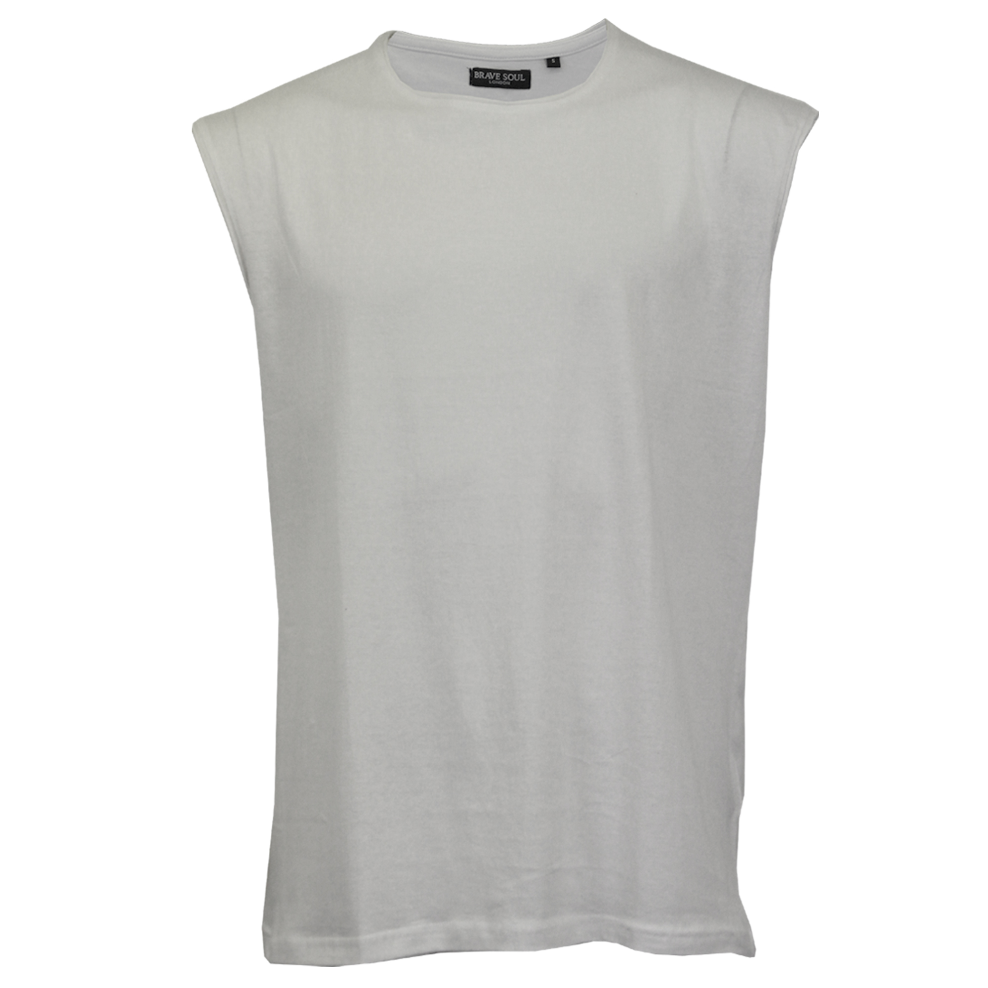 Mens-Vest-Brave-Soul-Tank-Top-Varley-Gym-Training-Crew-Neck-Casual-Summer-New thumbnail 14