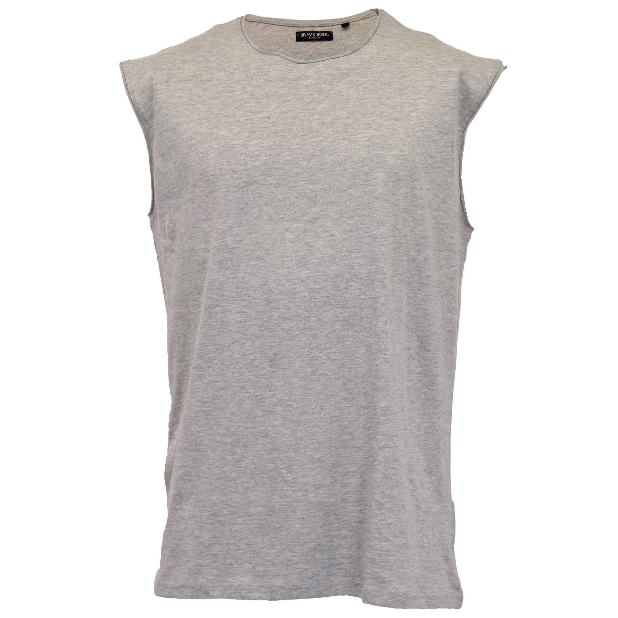 Mens-Vest-Brave-Soul-Tank-Top-Varley-Gym-Training-Crew-Neck-Casual-Summer-New thumbnail 7