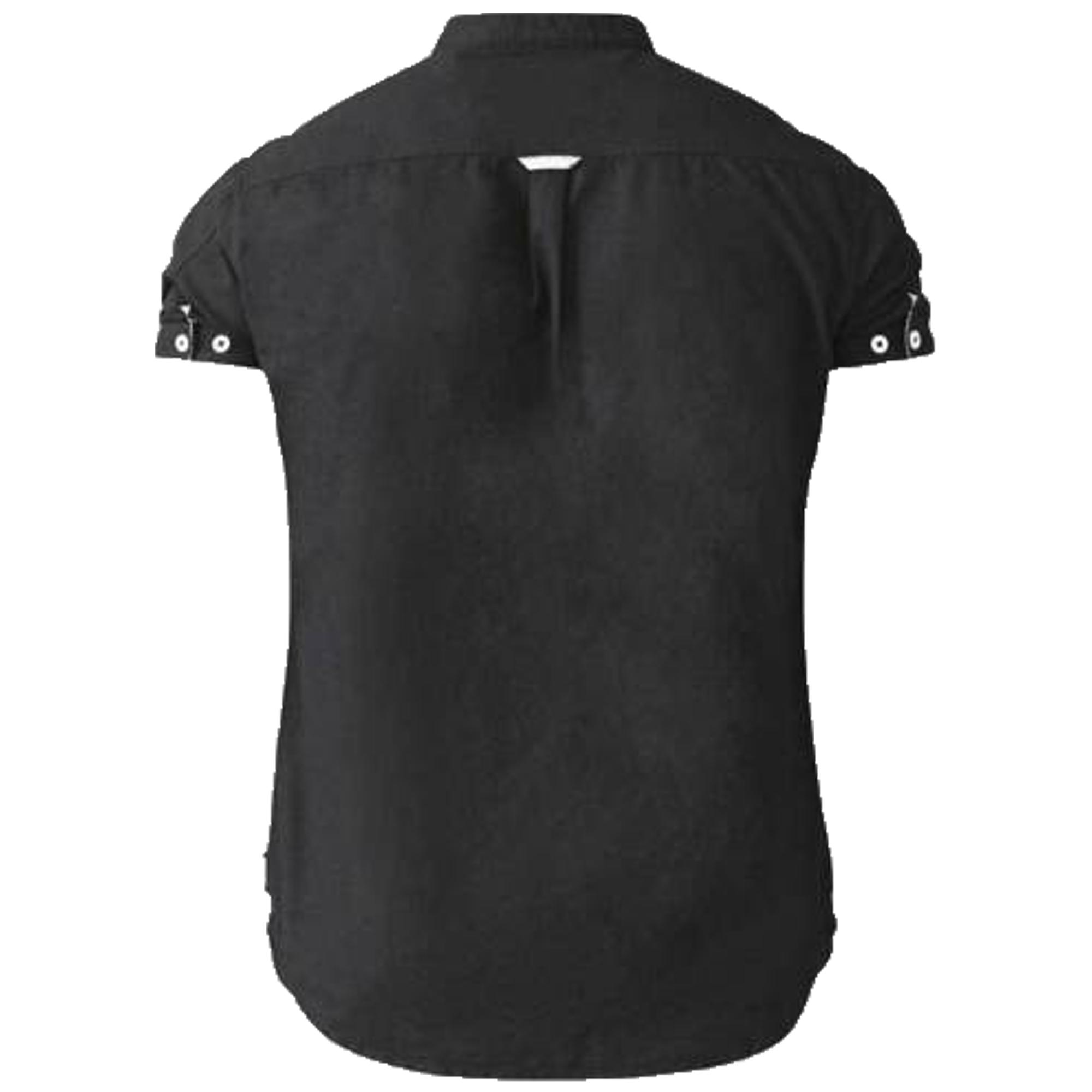 Camisa-Para-Hombres-D555-Duke-Algodon-Oxford-Big-King-Size-Dwight-Norman-de-Manga-Corta-Nuevo miniatura 3