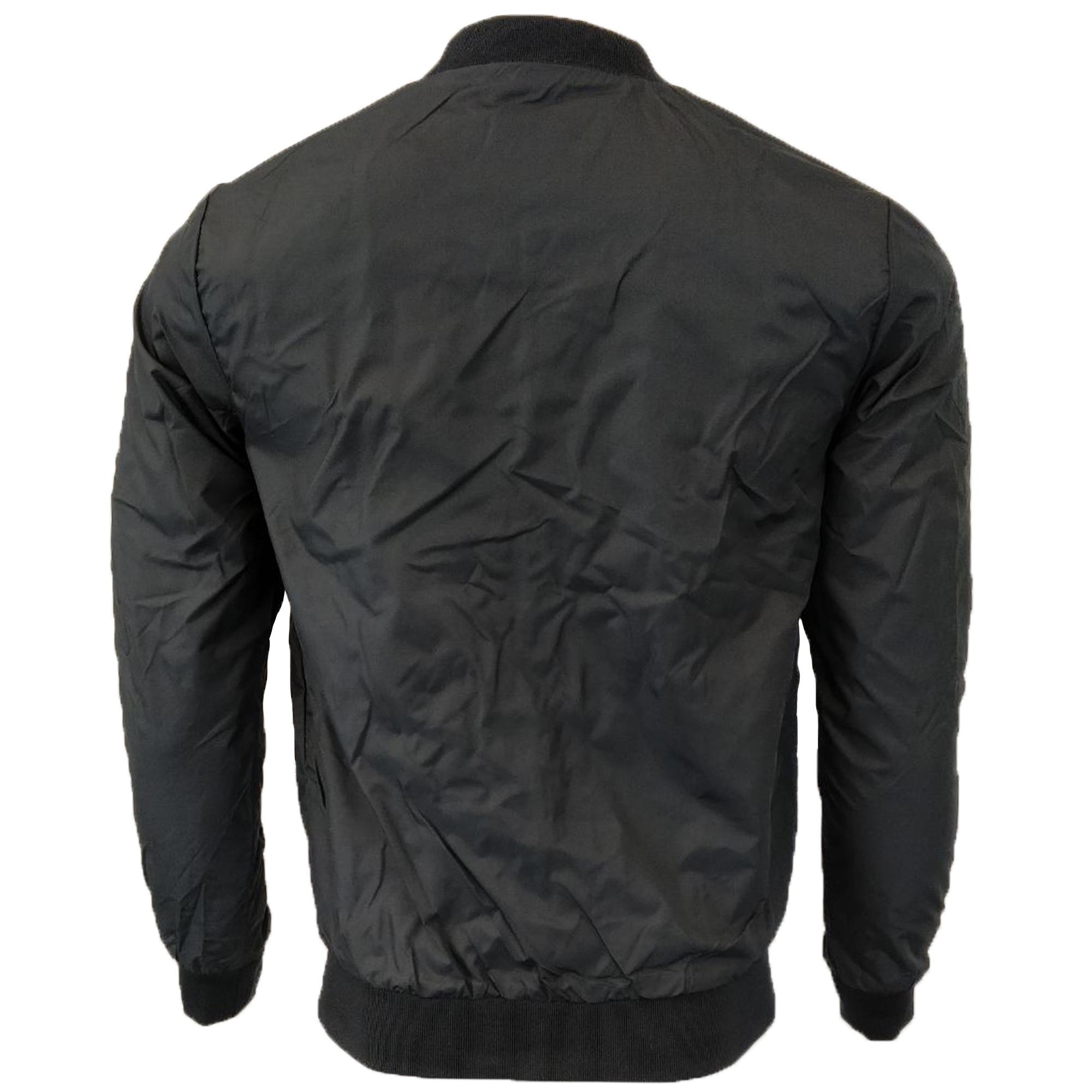 Mens-Jacket-Brave-Soul-Coat-Bomber-Baseball-Marvin-Lightweight-Hinckly-Summer thumbnail 6
