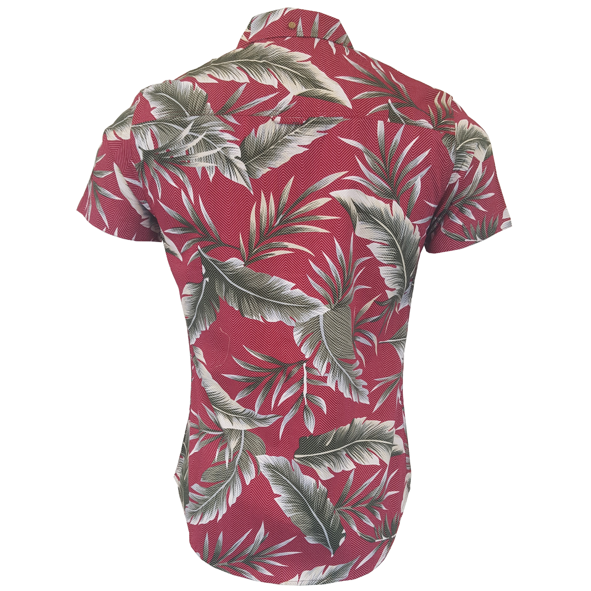 Herren-Hawaii-Hemd-abgezehrte-Blumendruck-Kurzaermeliges-Strand-Urlaub-Sommer-Neu Indexbild 3