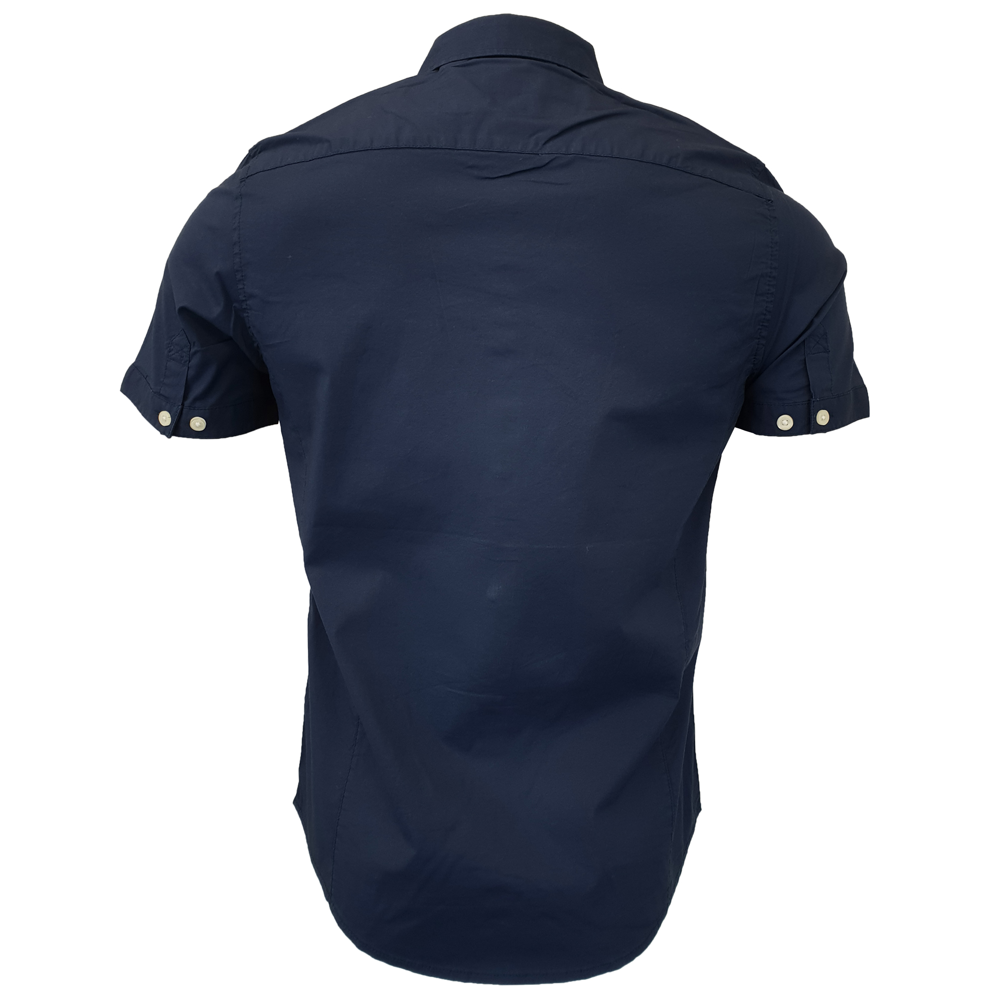 Mens-Linen-Cotton-Shirt-Tokyo-Laundry-Wells-Short-Sleeved-Grosvenor-Summer-New thumbnail 9