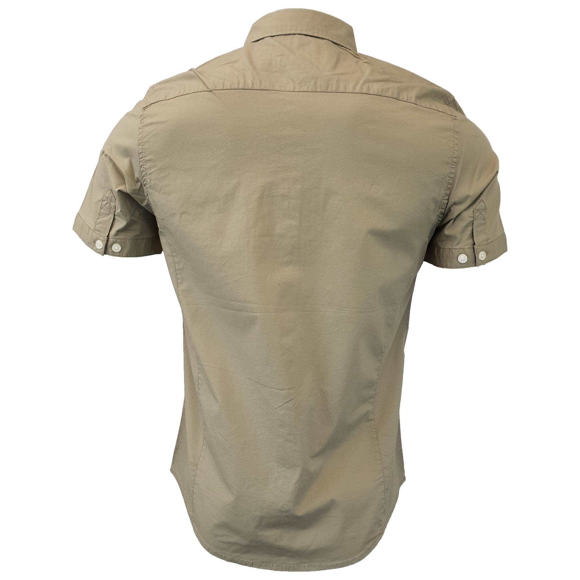 Mens-Linen-Cotton-Shirt-Tokyo-Laundry-Wells-Short-Sleeved-Grosvenor-Summer-New thumbnail 12