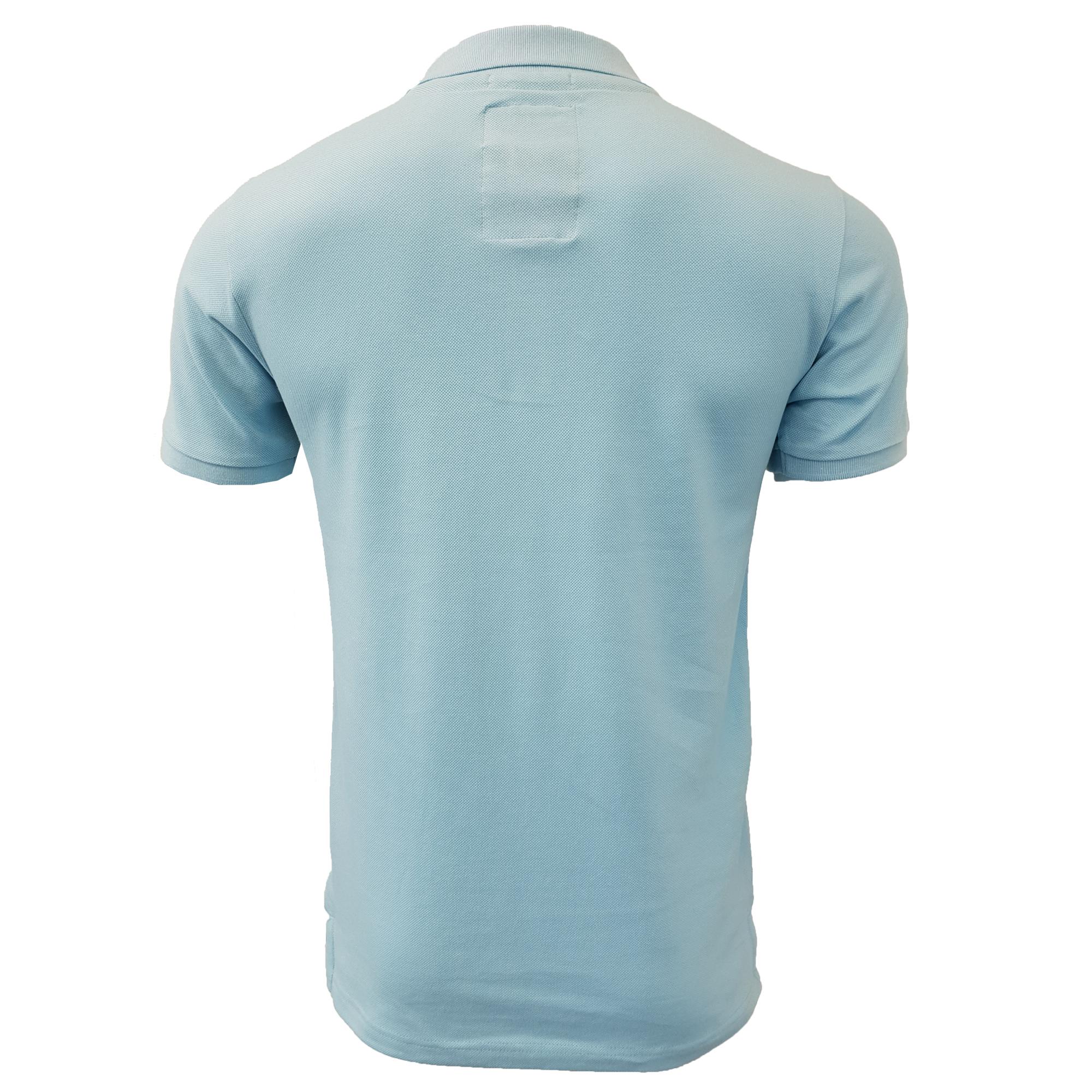 Mens-Pique-Polo-T-Shirt-Tokyo-Laundry-Florenzi-Short-Sleeved-Top-Casual-Summer thumbnail 4