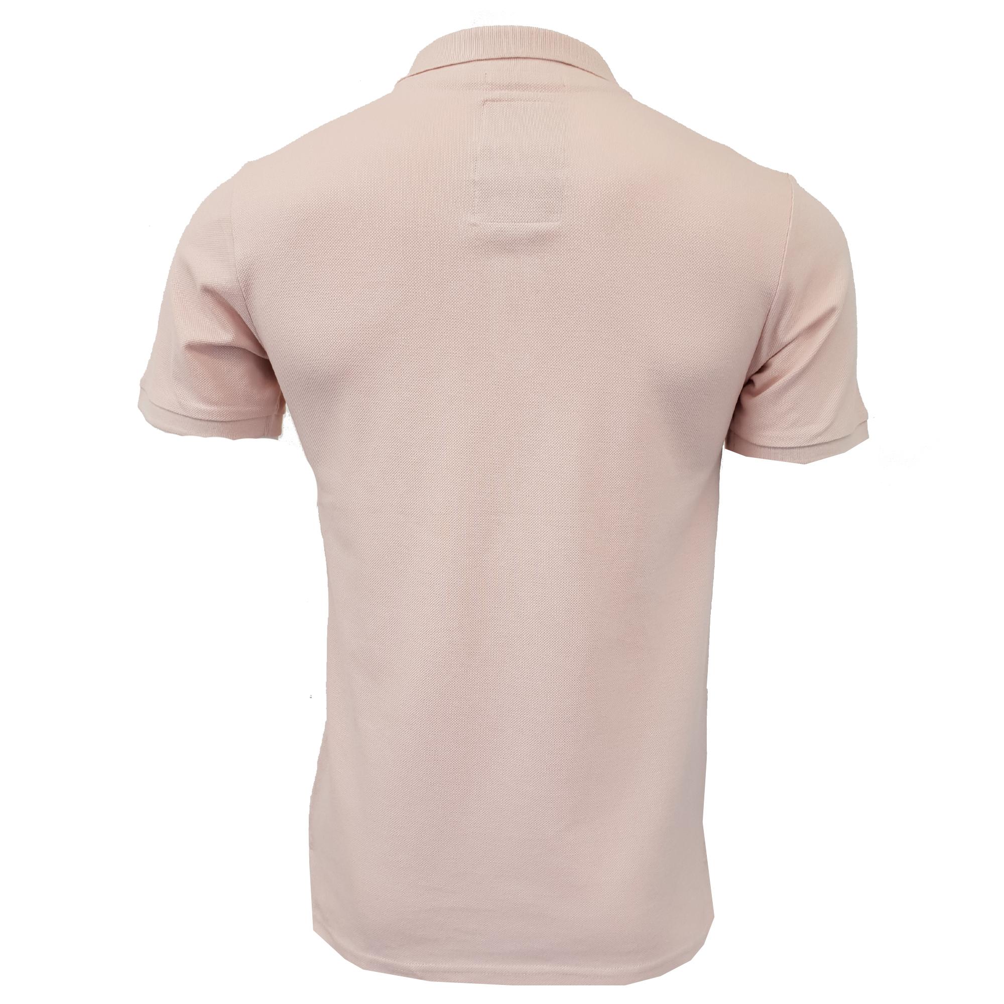 Mens-Pique-Polo-T-Shirt-Tokyo-Laundry-Florenzi-Short-Sleeved-Top-Casual-Summer thumbnail 20