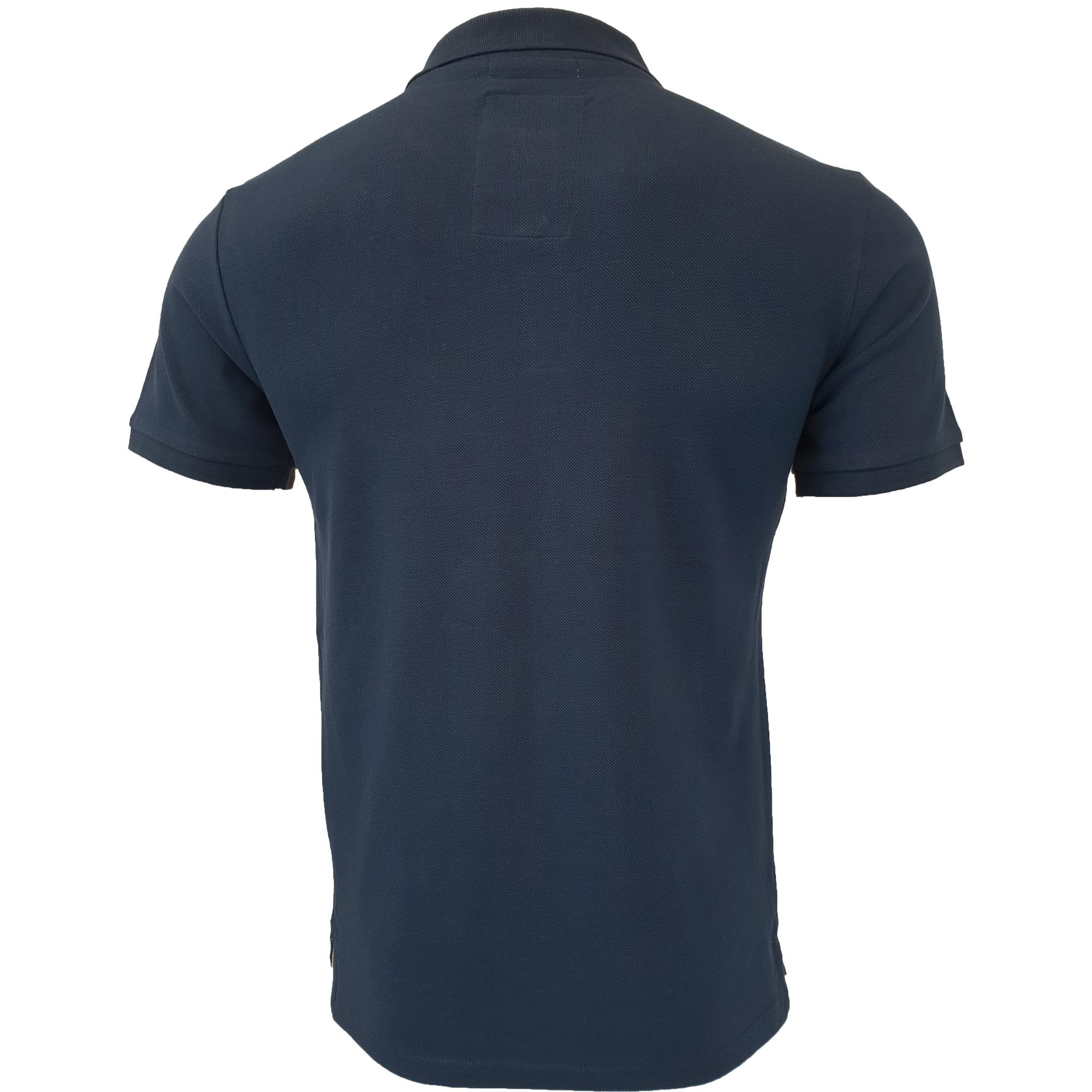 Mens-Pique-Polo-T-Shirt-Tokyo-Laundry-Florenzi-Short-Sleeved-Top-Casual-Summer thumbnail 12