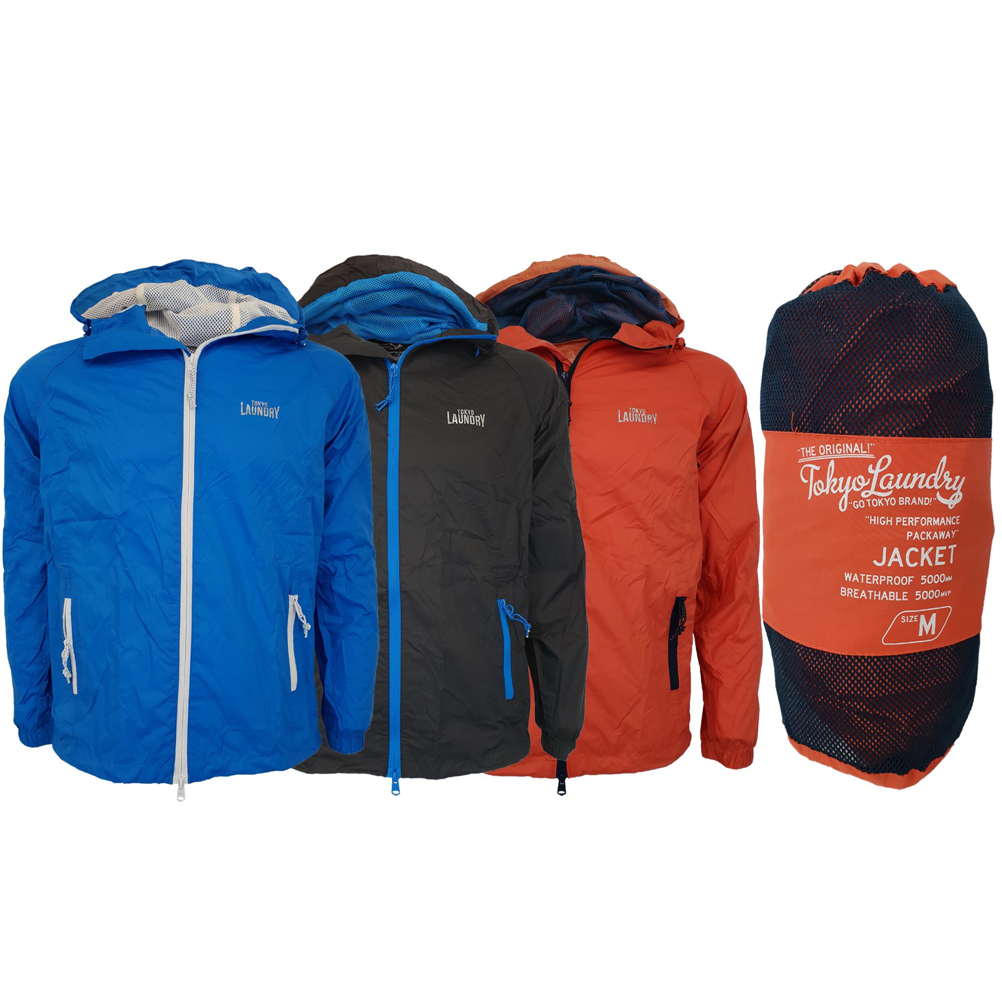 Mens-Kagool-Breathable-Hooded-Jacket-Tokyo-Laundry-Waterproof-Coat-Windproof-New thumbnail 4