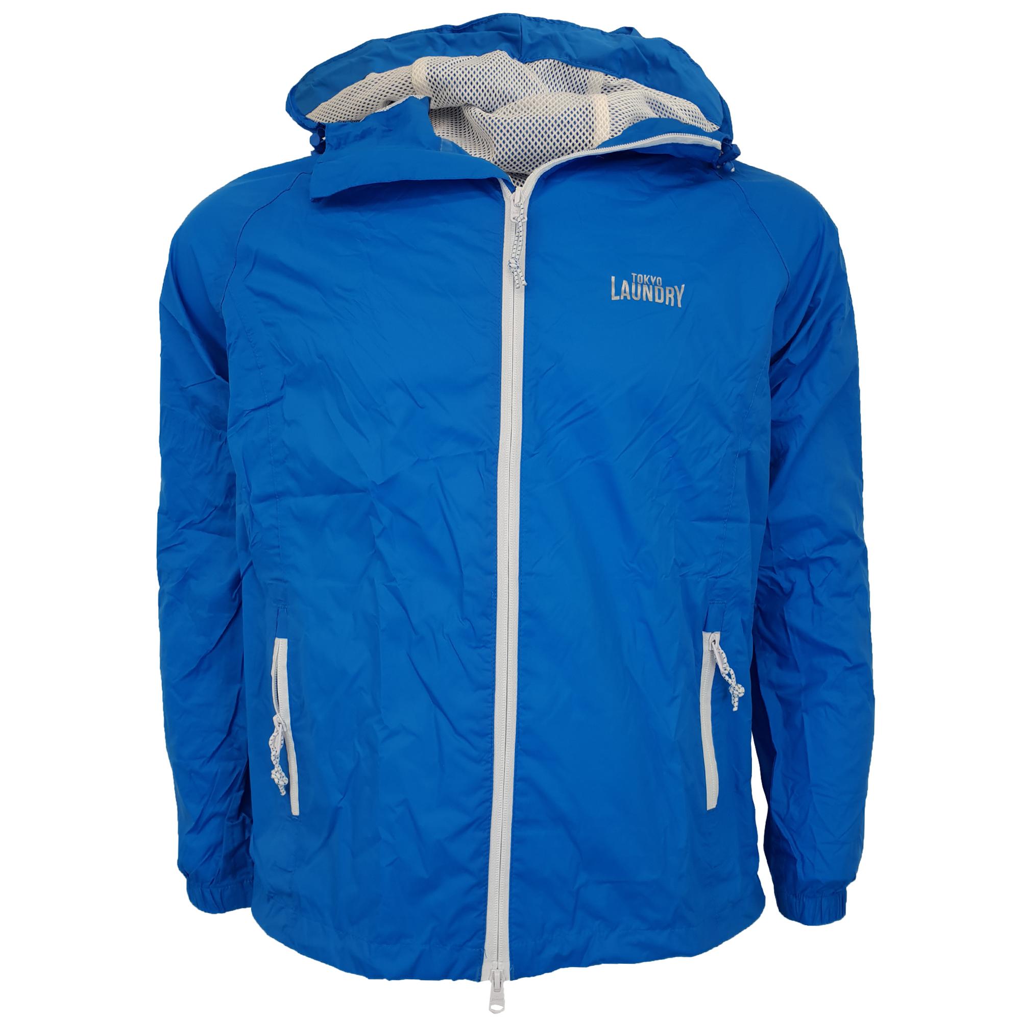 Mens-Kagool-Breathable-Hooded-Jacket-Tokyo-Laundry-Waterproof-Coat-Windproof-New thumbnail 5