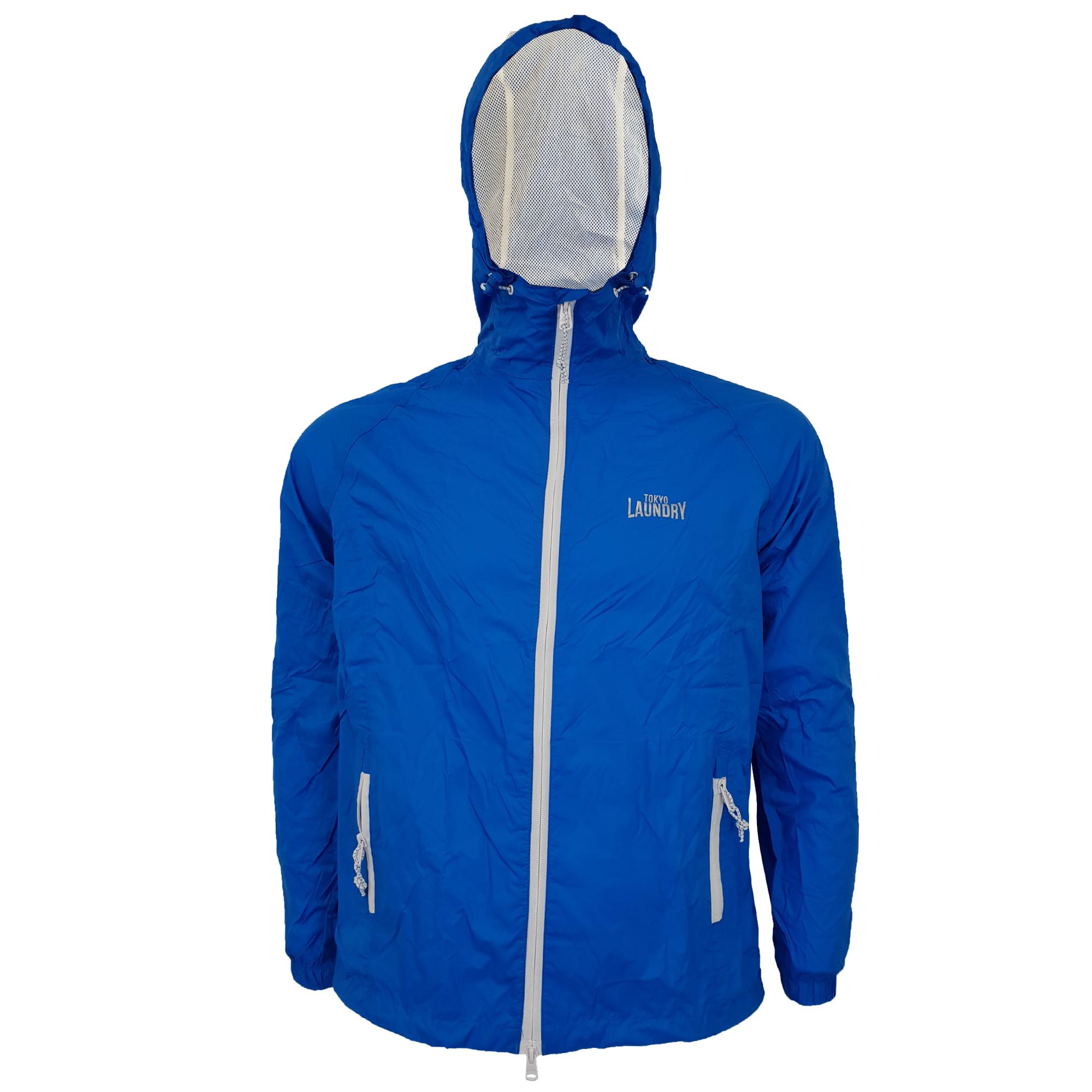 Mens-Kagool-Breathable-Hooded-Jacket-Tokyo-Laundry-Waterproof-Coat-Windproof-New thumbnail 6