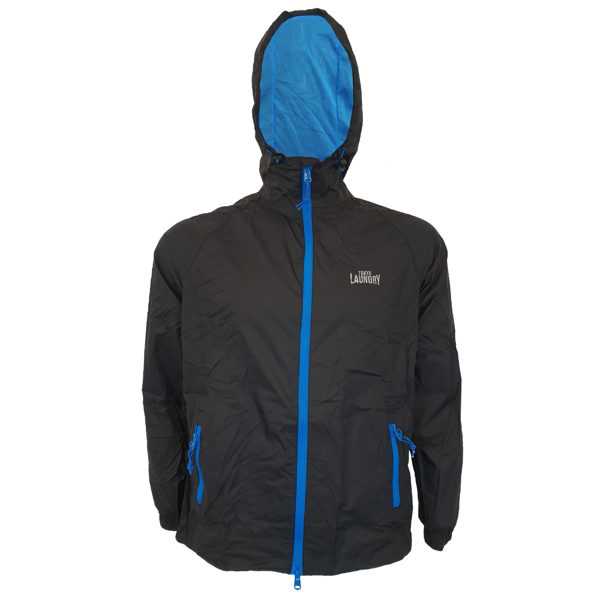 Mens-Kagool-Breathable-Hooded-Jacket-Tokyo-Laundry-Waterproof-Coat-Windproof-New thumbnail 3