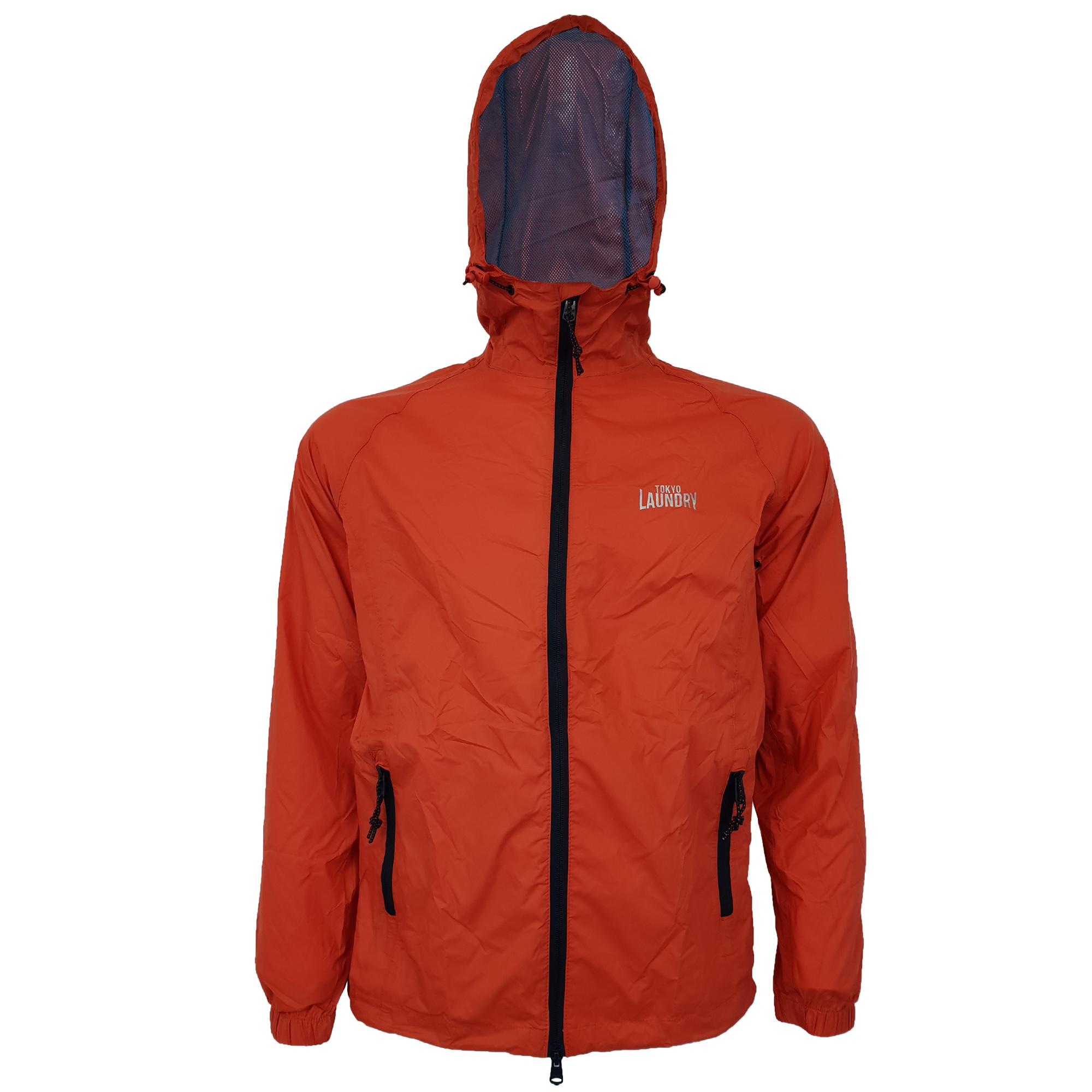Mens-Kagool-Breathable-Hooded-Jacket-Tokyo-Laundry-Waterproof-Coat-Windproof-New thumbnail 11