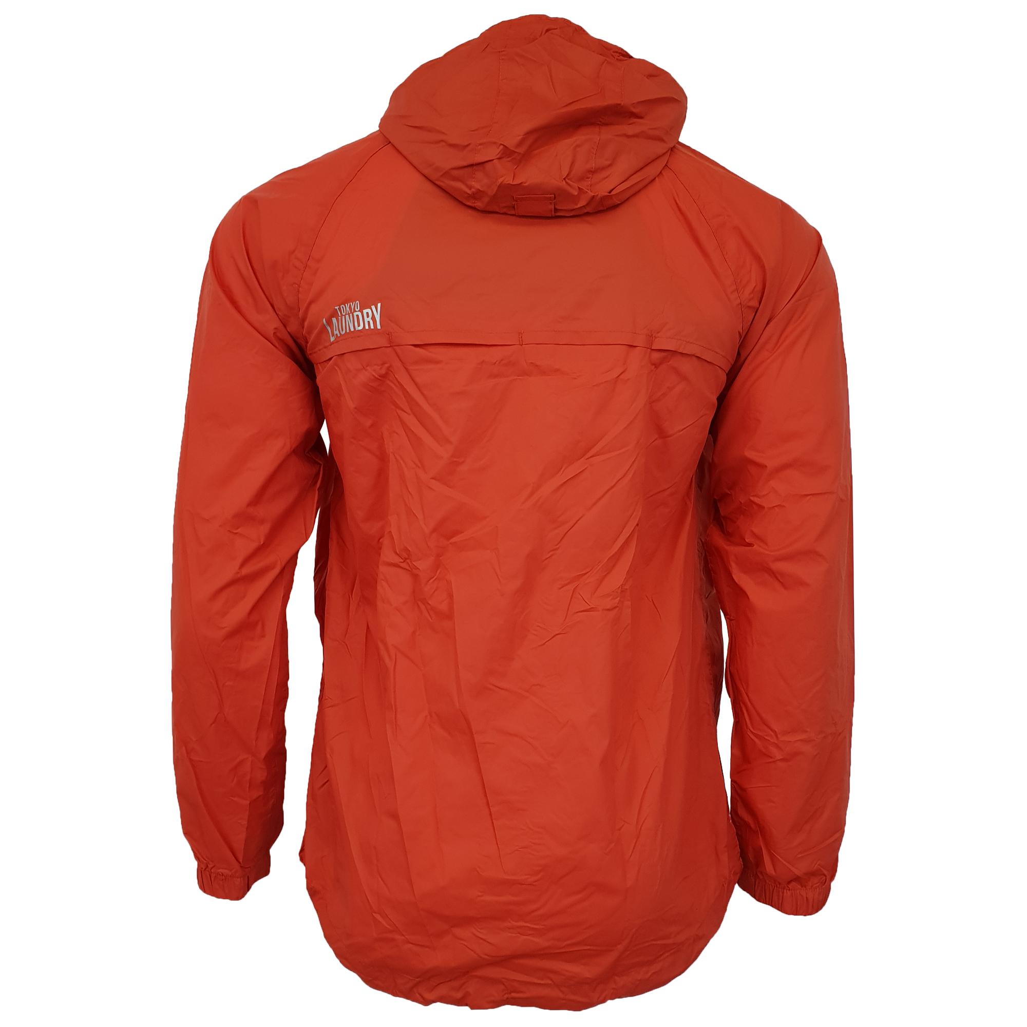 Mens-Kagool-Breathable-Hooded-Jacket-Tokyo-Laundry-Waterproof-Coat-Windproof-New thumbnail 12