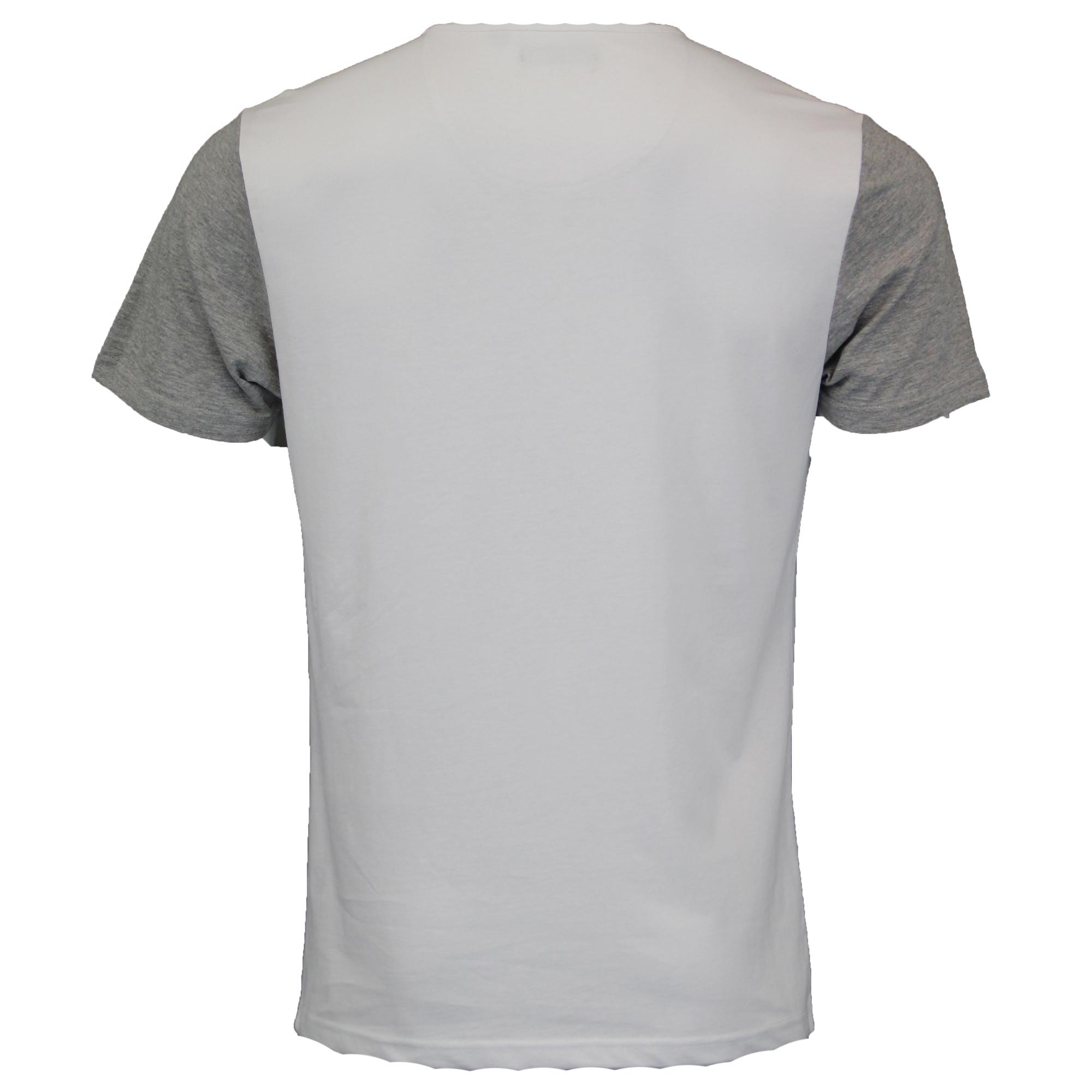33e9365c Mens T Shirt Brave Soul Short Sleeved Civil Cotton Top Grandad Neck ...
