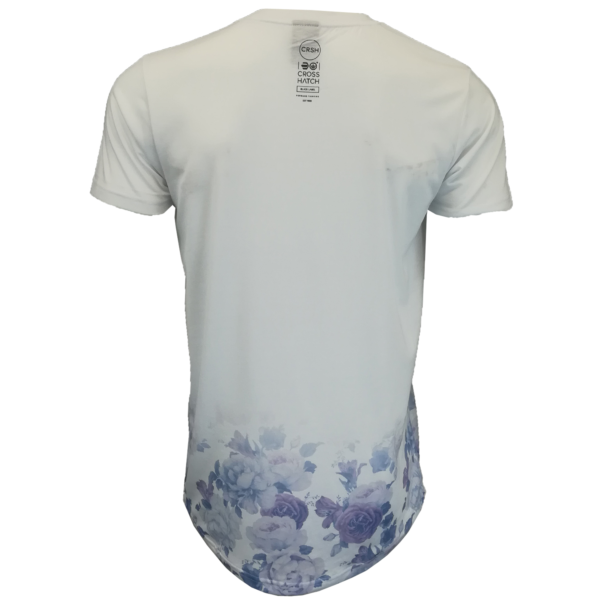 Mens-T-Shirt-Crosshatch-Short-Sleeved-Connors-Roses-Print-Top-Floraz-Summer-New thumbnail 12