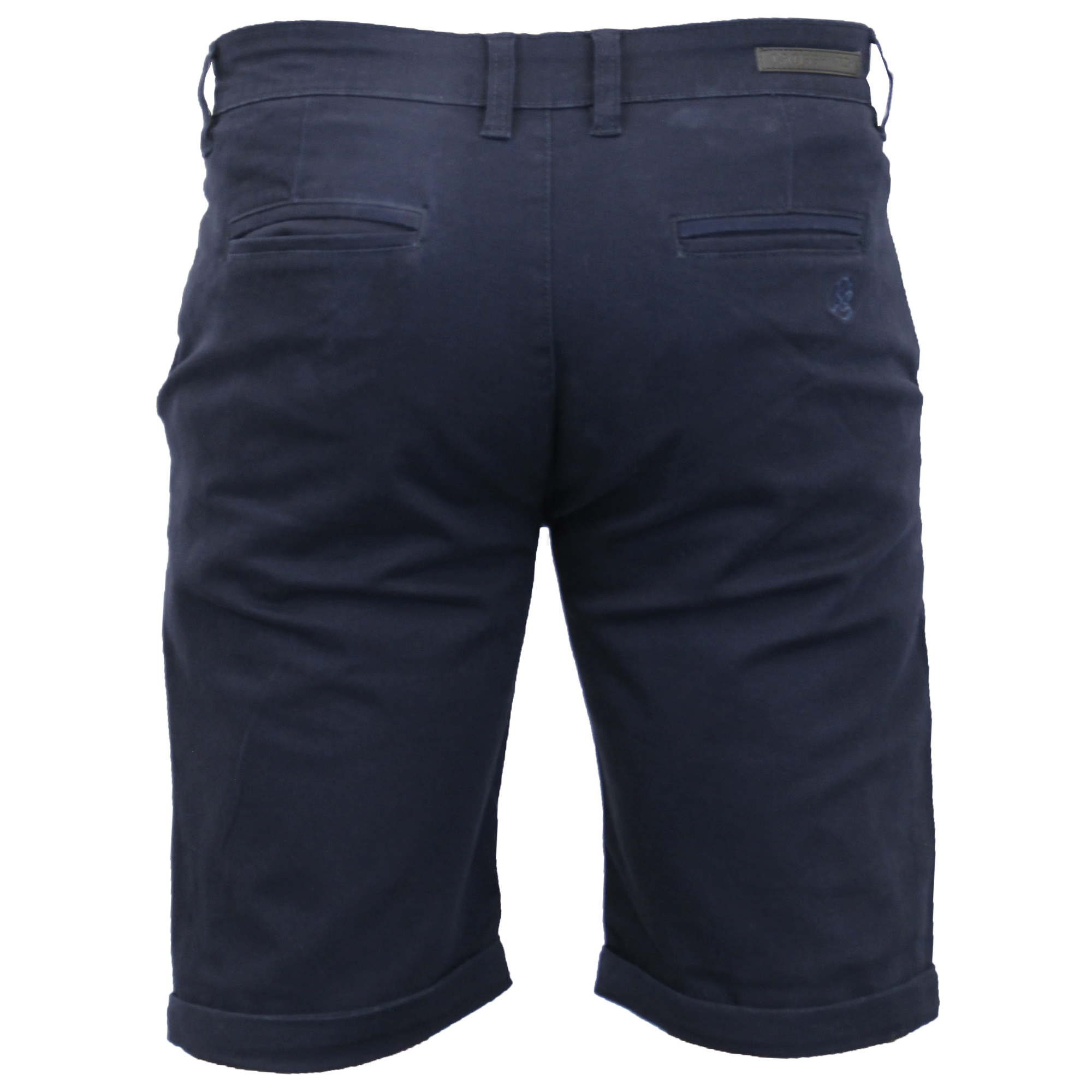 thumbnail 6 - Mens-Chino-Shorts-Crosshatch-Brandons-Knee-Length-Fastrack-Roll-Up-Summer-New