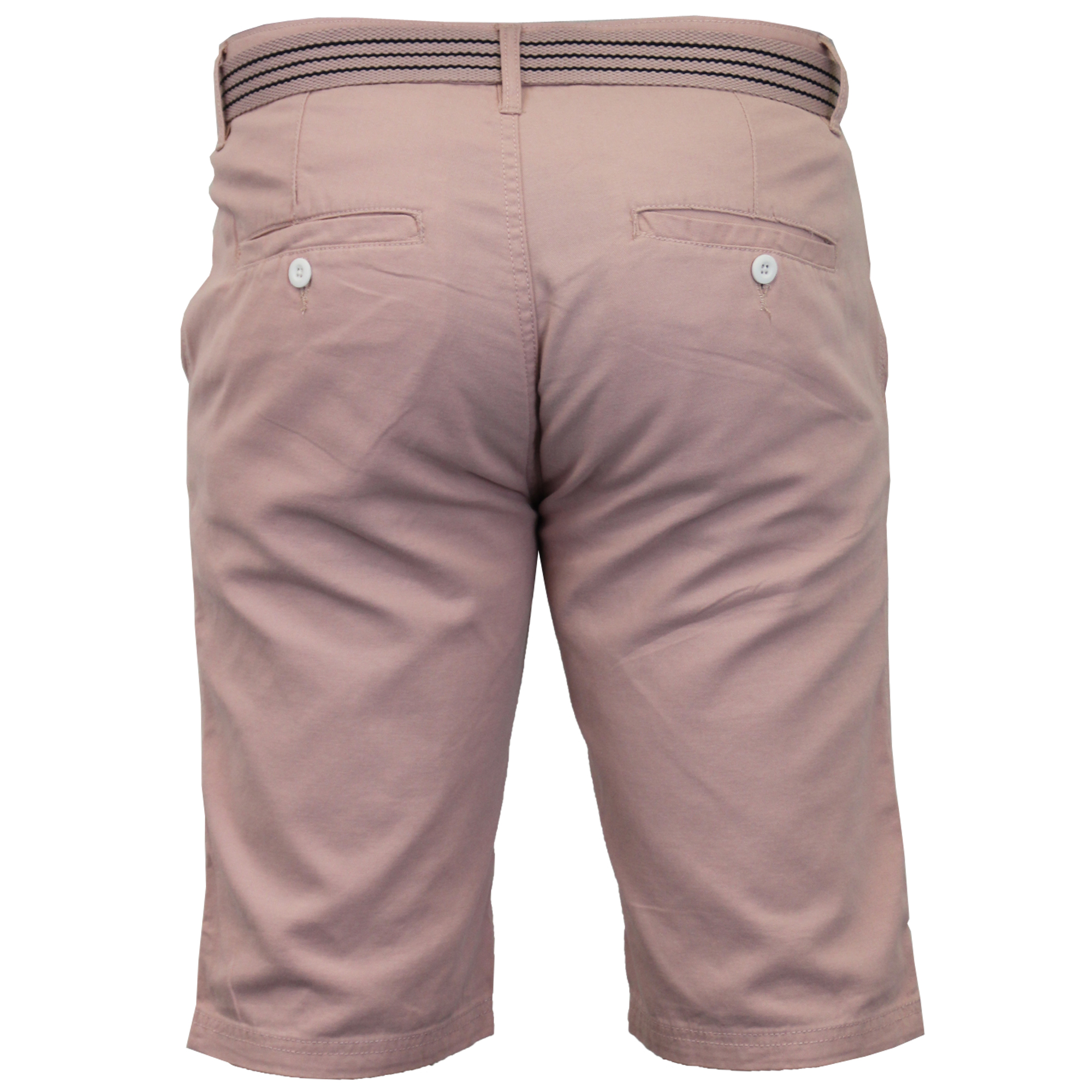 Mens-Chino-Shorts-Threadbare-Cotton-Oxford-Belted-Loyalty-amp-Faith-Seven-Series thumbnail 8