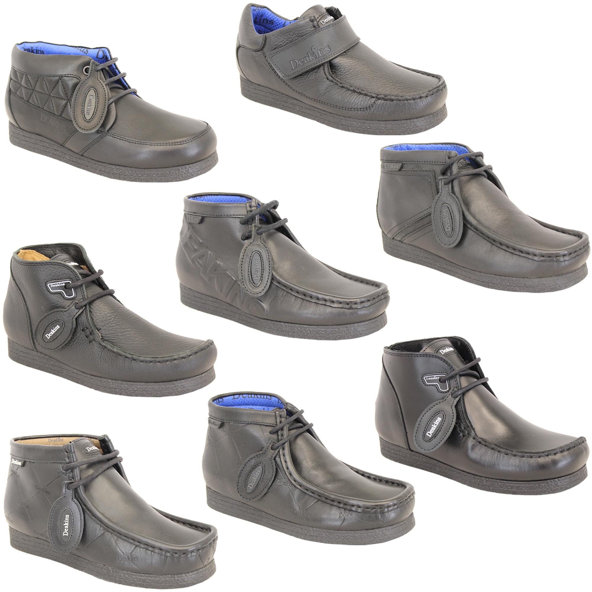 Boys School Shoes Deakins Kids Leather