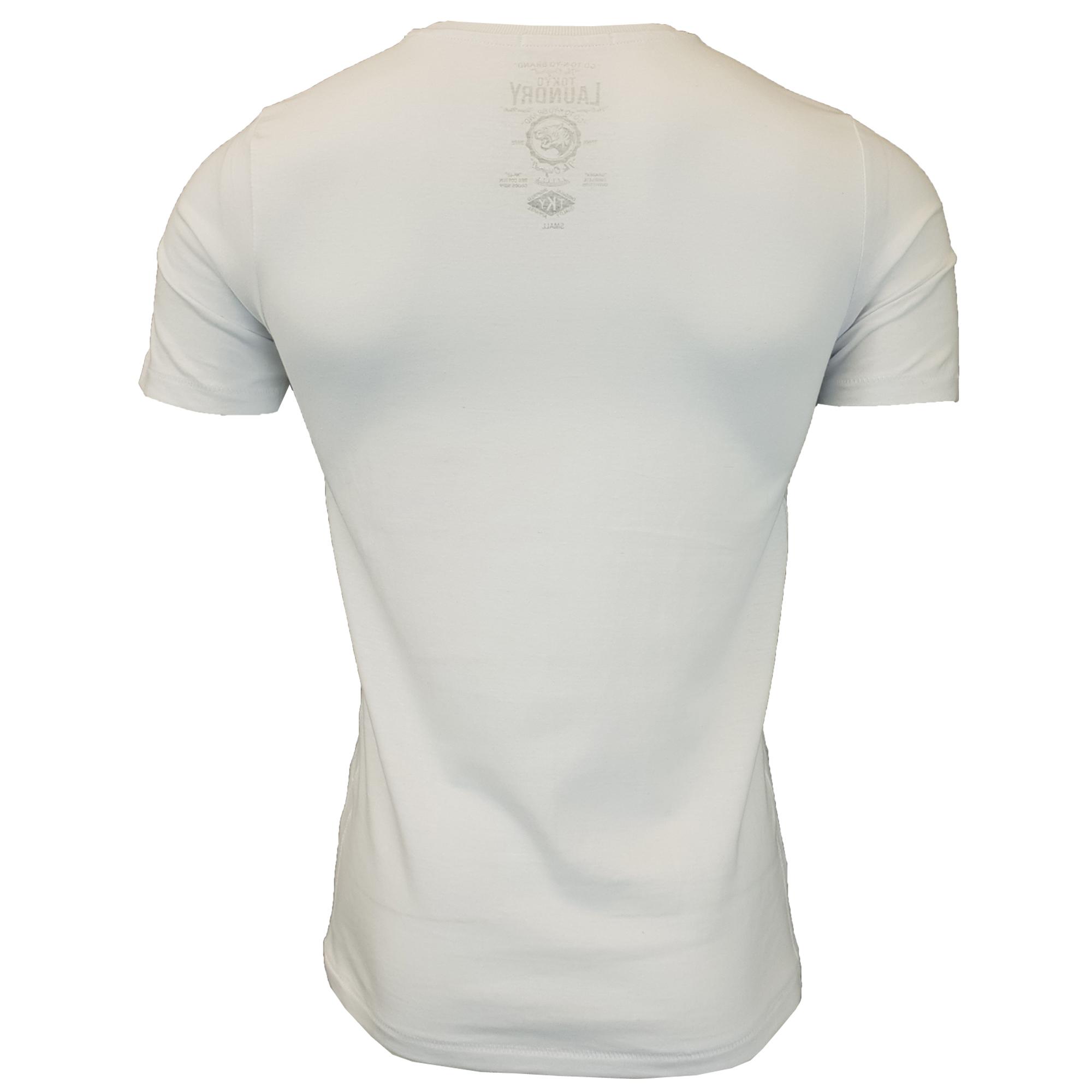 198933f9d2ea New Mens Tokyo Laundry 3 Pack Plain Combed Cotton T-shirt Top Plain Mix  Colours T-Shirts