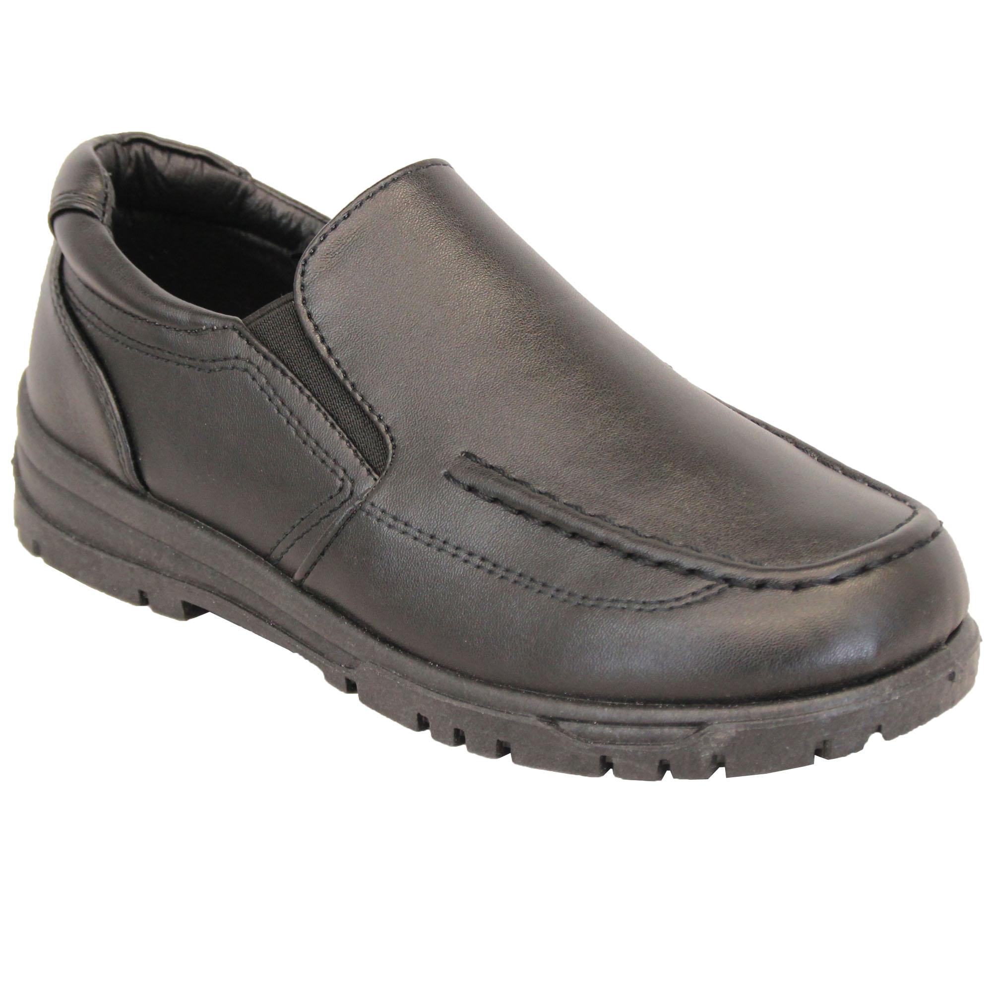 Boys School Shoes Kids Formal Slip On
