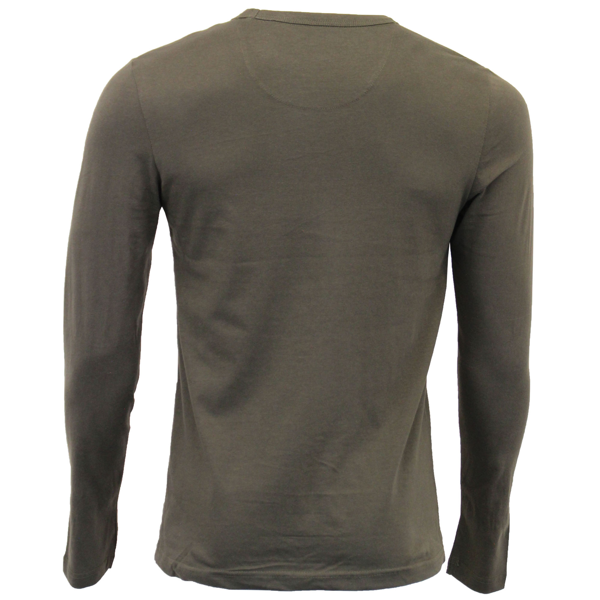 Mens-Jersey-Top-Brave-Soul-Long-Sleeved-T-Shirt-69PRAGUE-Crew-Neck-King-Sizes