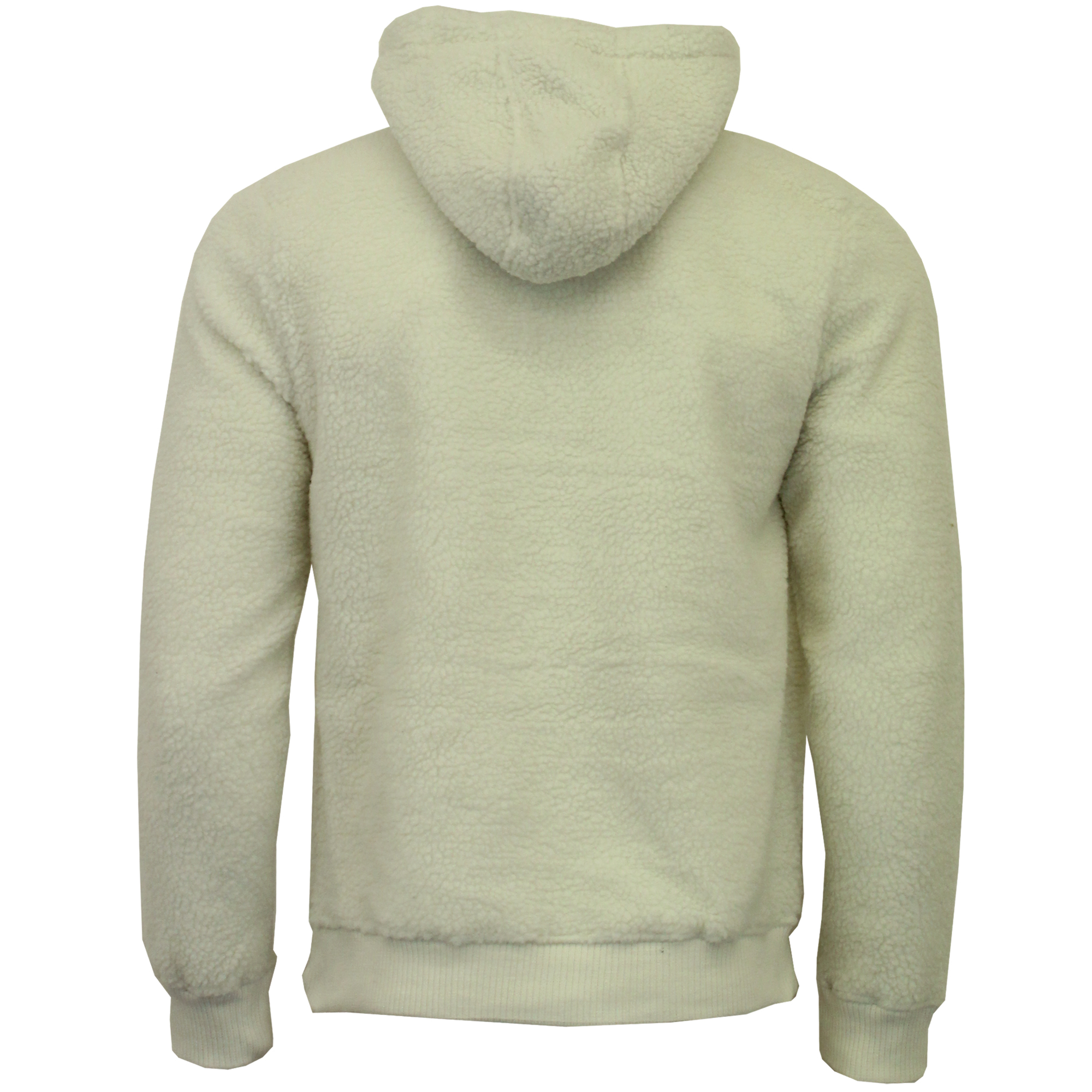 Mens-Borg-Sherpa-Fleece-Sweatshirt-Brave-Soul-DAIM-Over-The-Head-Hooded-Top-Warm thumbnail 3