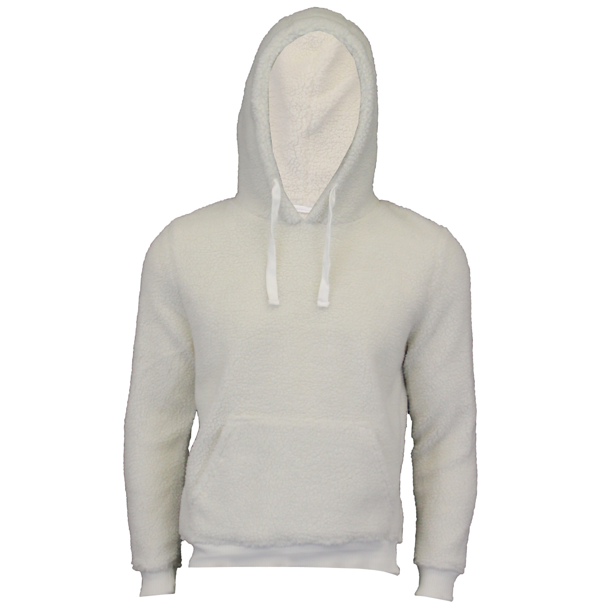Mens-Sherpa-Fleece-Borg-Sweatshirt-Brave-Soul-Over-The-Head-GROMIT-Hooded-Top thumbnail 3